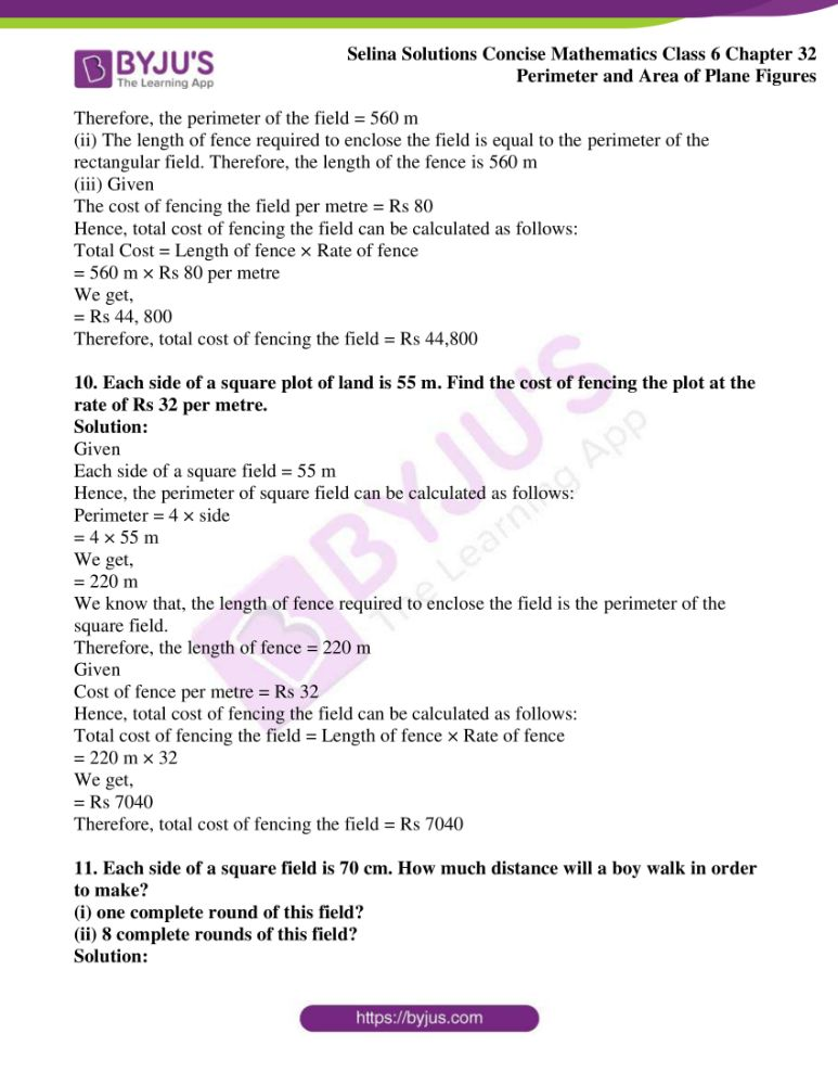 selina solutions for concise mathematics class 6 chapter 32 ex a 07