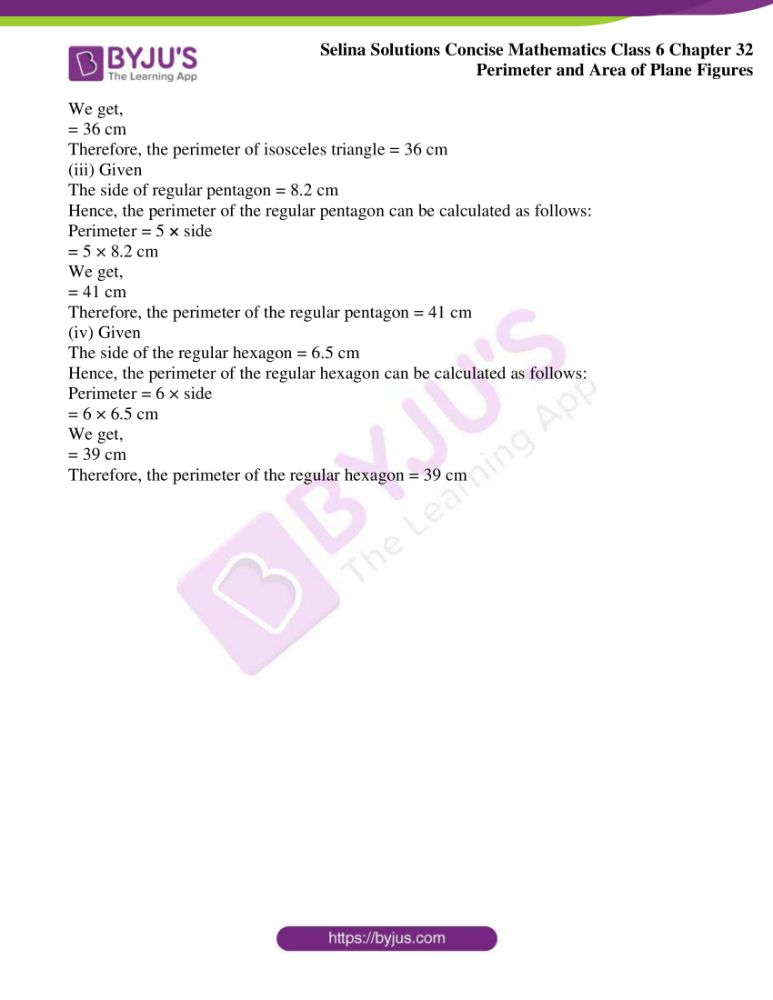 selina solutions for concise mathematics class 6 chapter 32 ex a 11