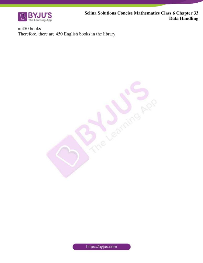 selina solutions for concise mathematics class 6 chapter 33 ex b 6