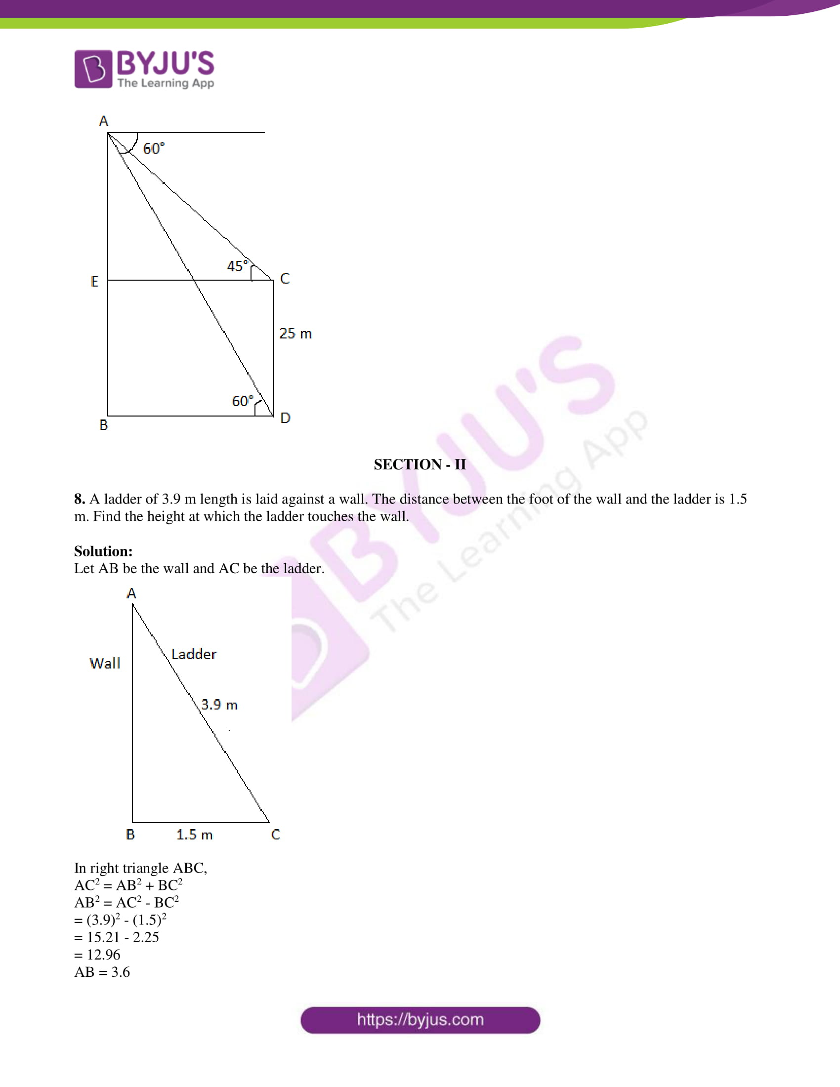 tl board ssc class 10 maths 2015 question paper 2 with sol 03
