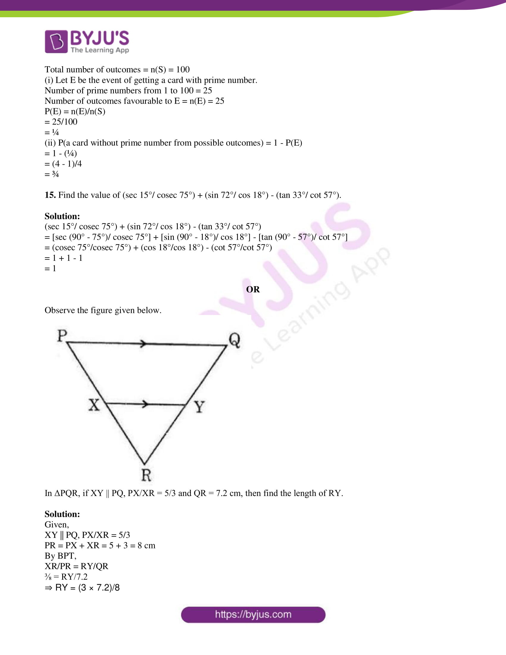 tl board ssc class 10 maths 2015 question paper 2 with sol 07