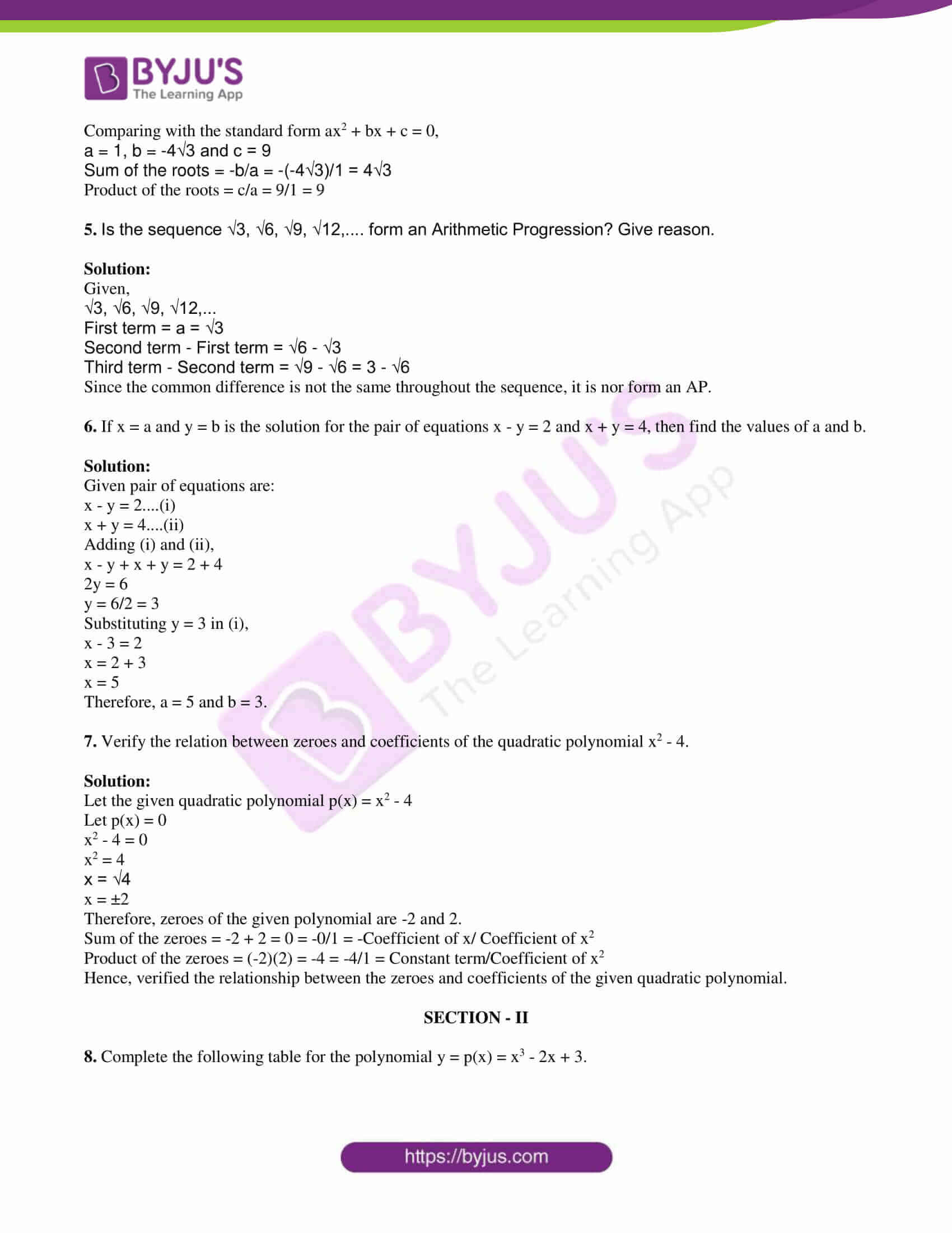 tl board ssc class 10 maths 2018 question paper 1 with sol 02