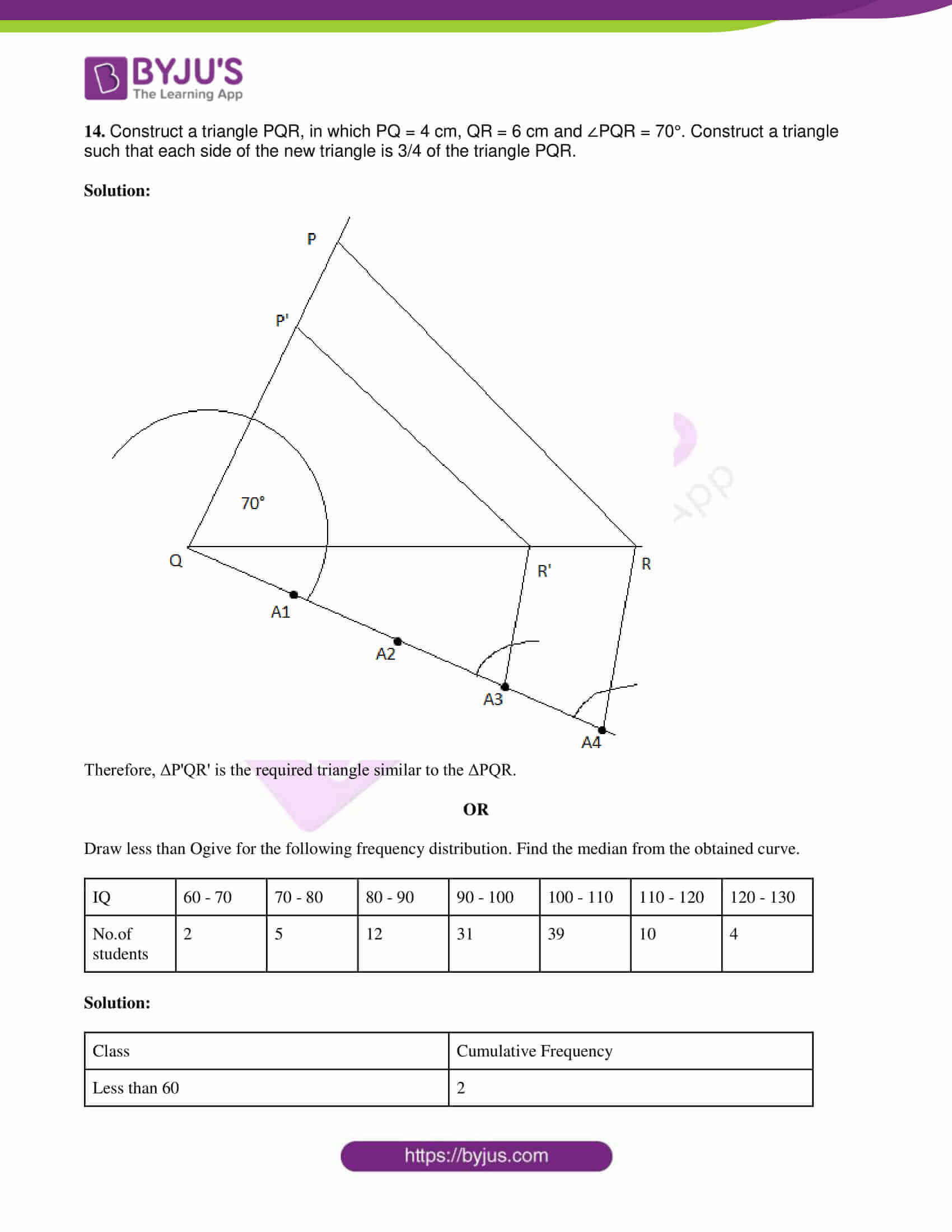 tl board ssc class 10 maths 2019 question paper 2 with sol 06