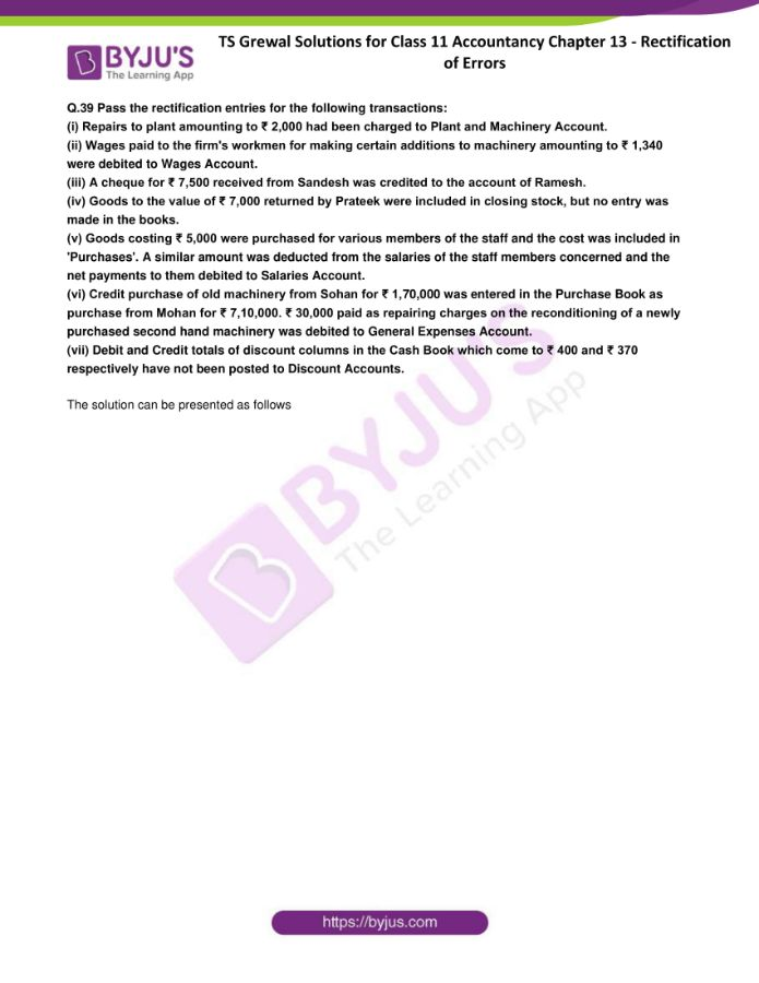 ts grewal solutions for class 11 account chapter 13 min 40