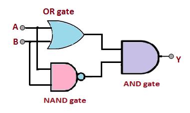 XOR equivalent circuit