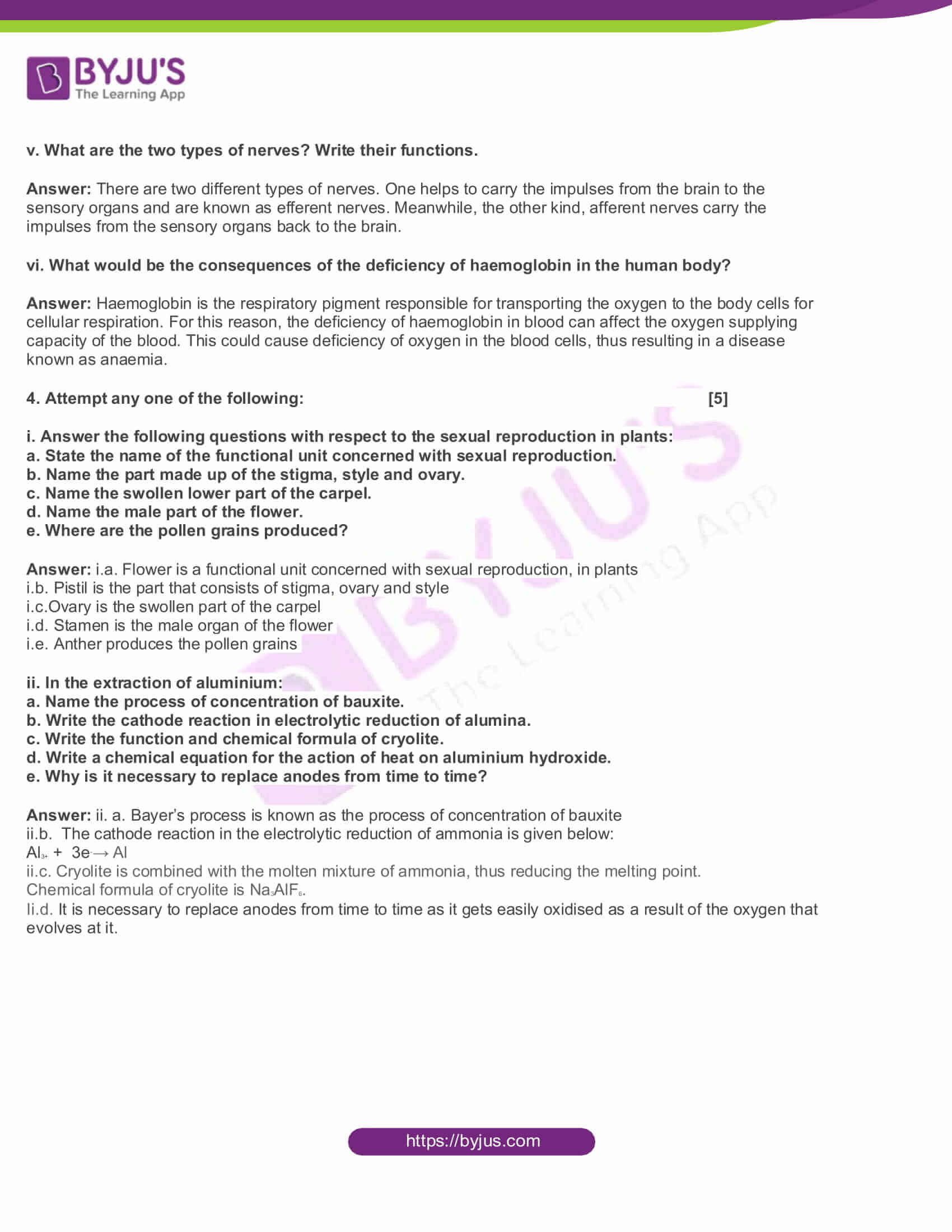 MSBSHSE Class 10 Science and Technology Part II Solved Previous Year Paper 2017 5