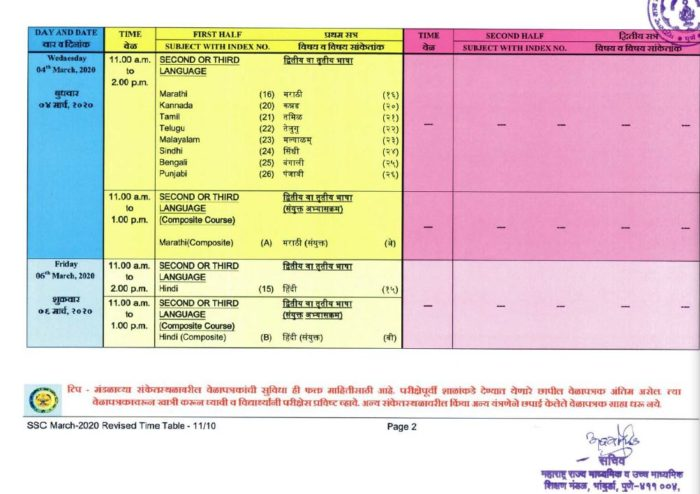 MSBSHSE-Class-10-Time-Table-2020-21-page-2