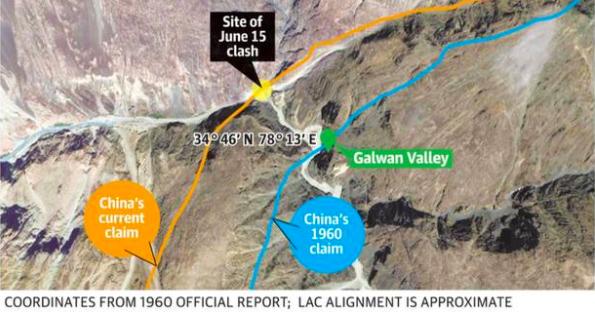 Site of June 15 clash
