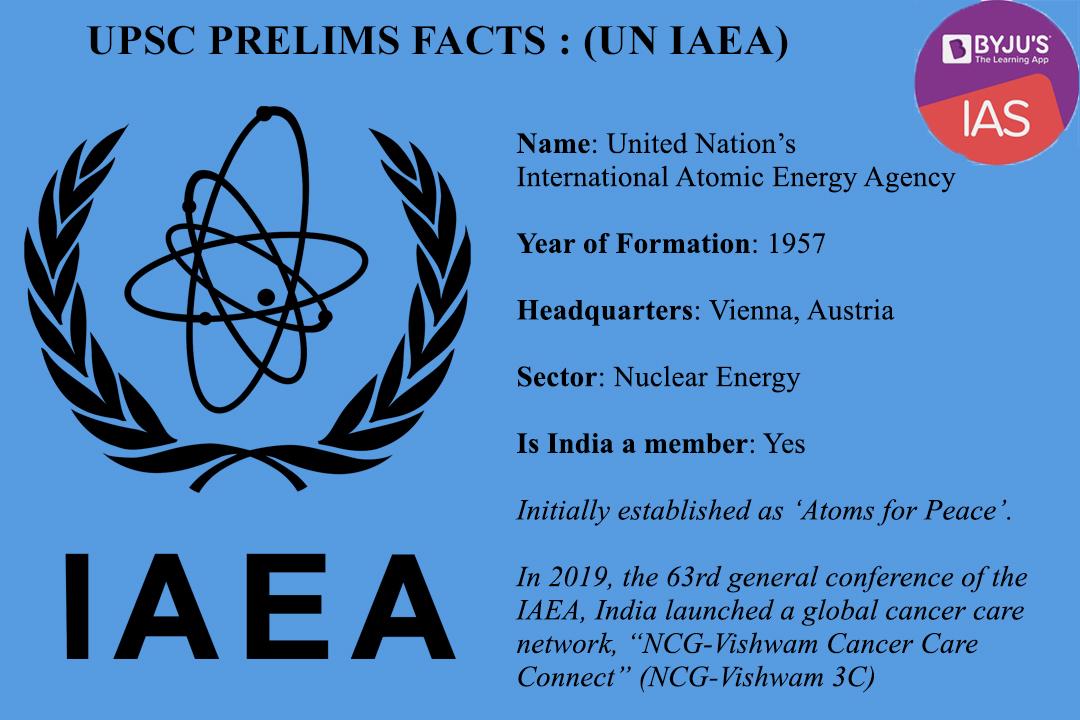 UPSC Prelims Facts - IAEA