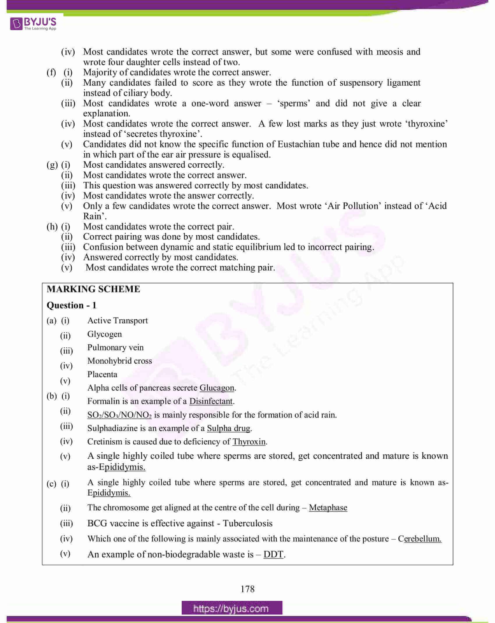 icse class 10 biology question paper solution 2015 05