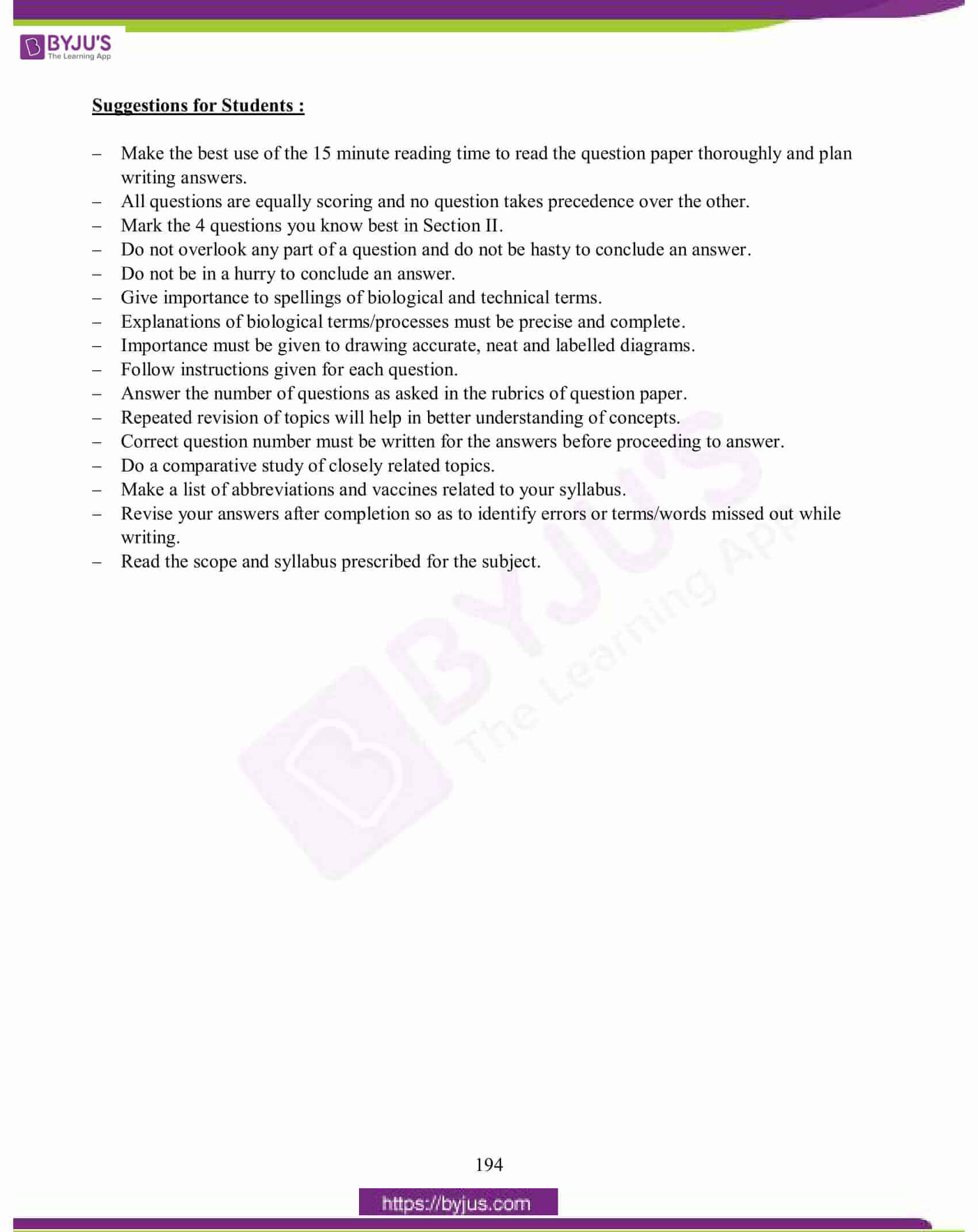 icse class 10 biology question paper solution 2015 21