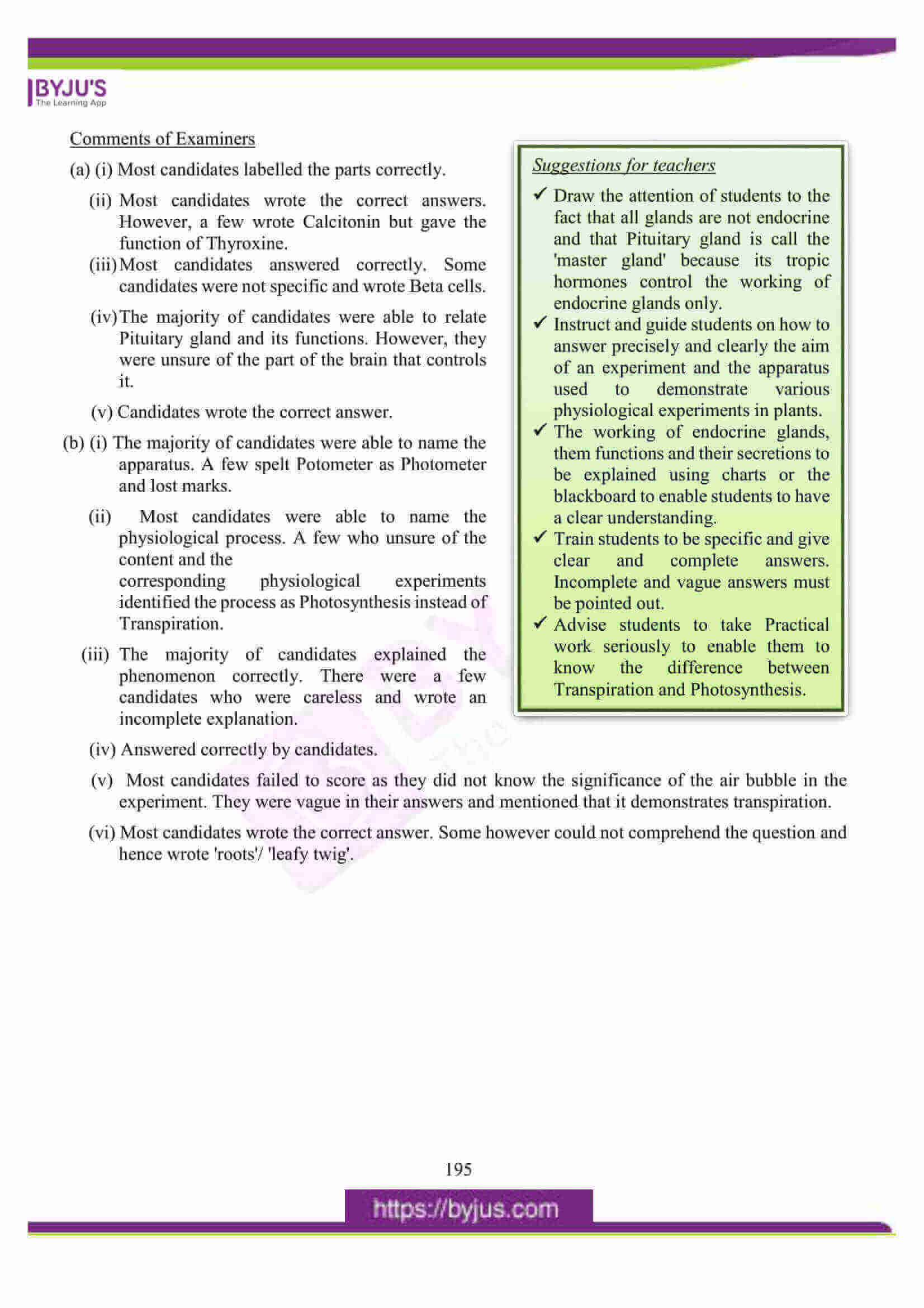 icse class 10 biology question paper solution 2016 13