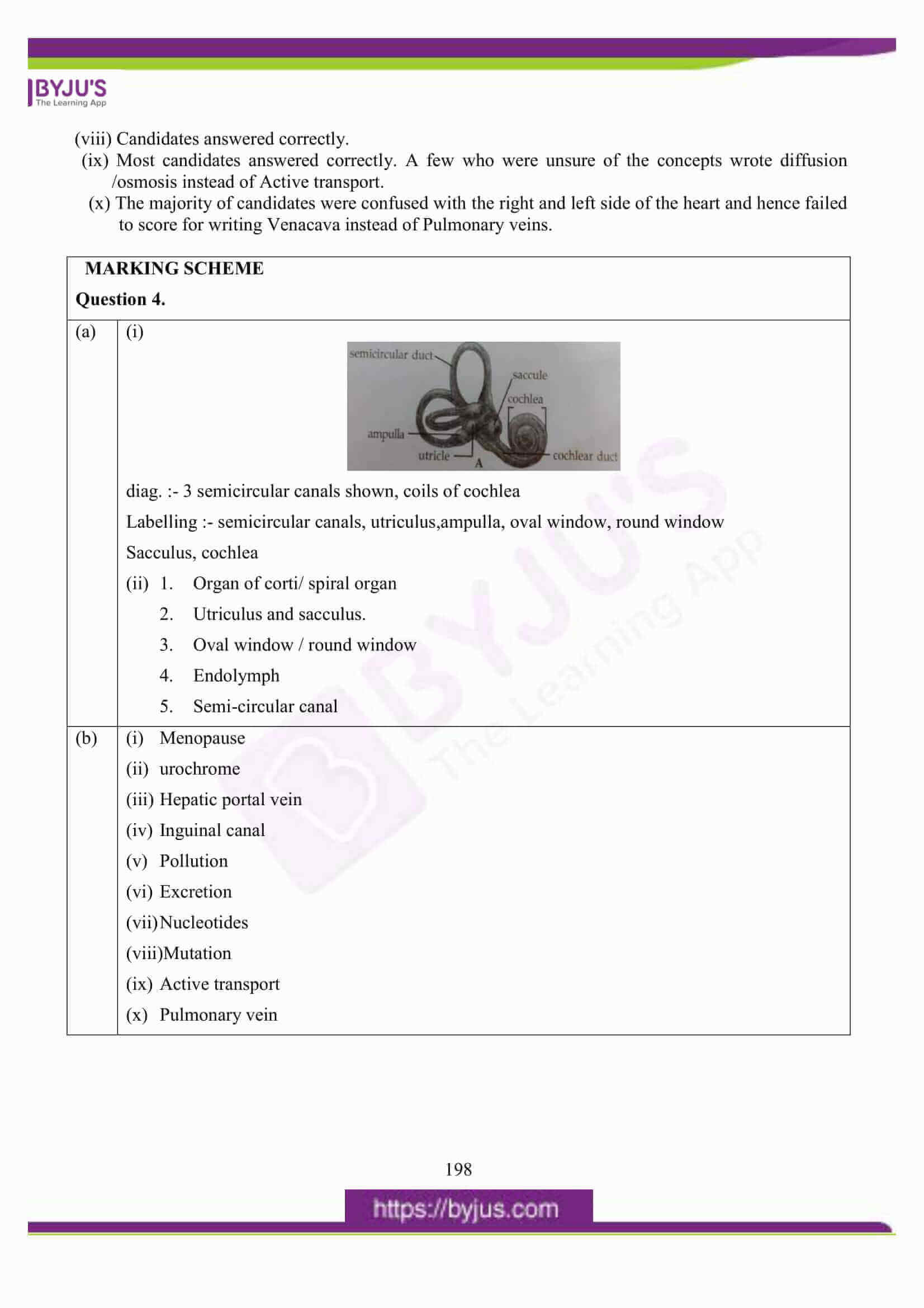 icse class 10 biology question paper solution 2016 16
