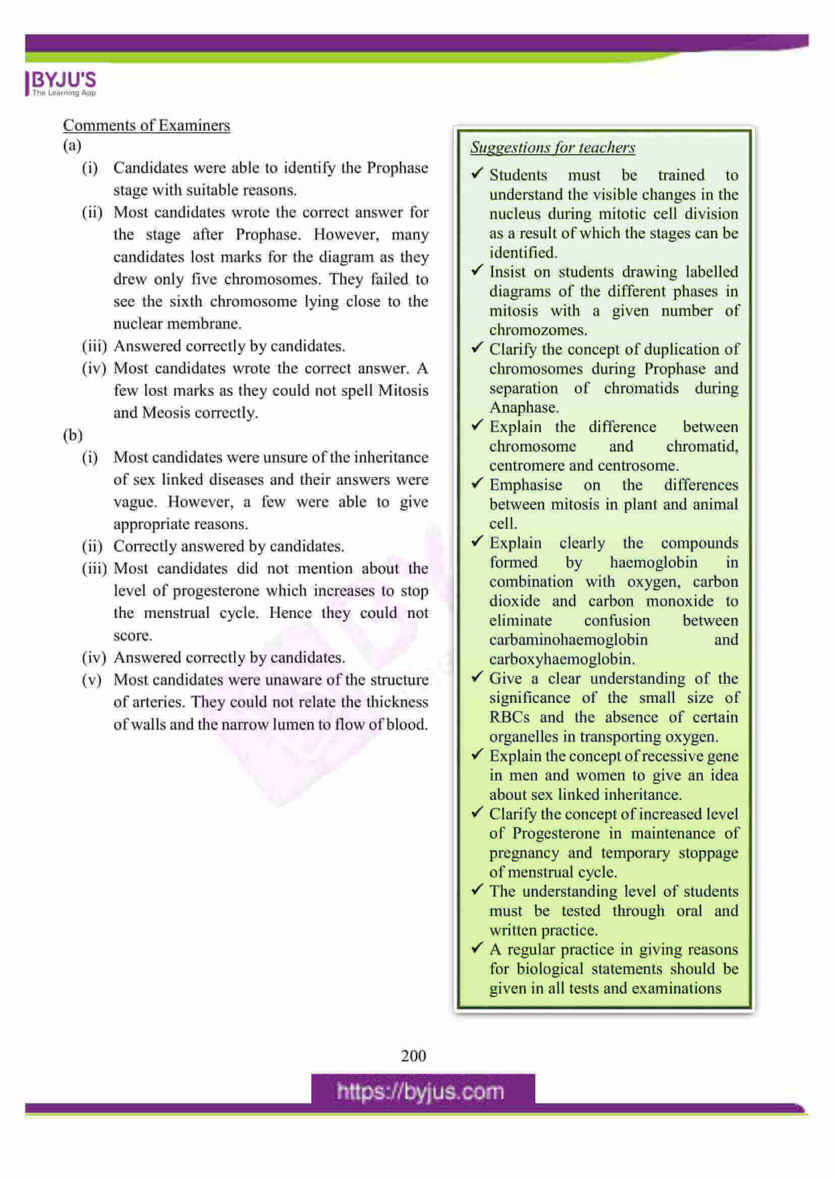 icse class 10 biology question paper solution 2016 18