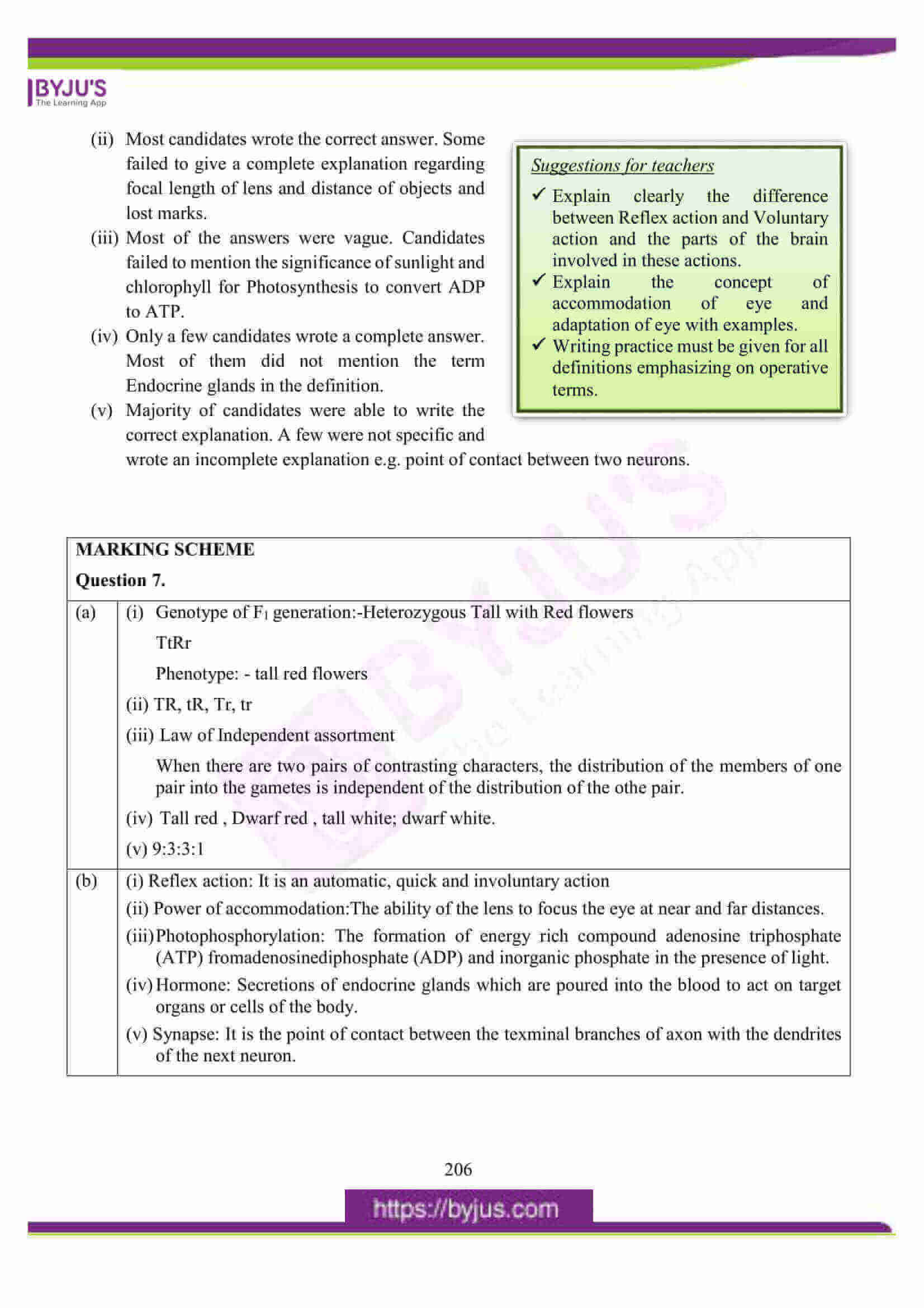 icse class 10 biology question paper solution 2016 24