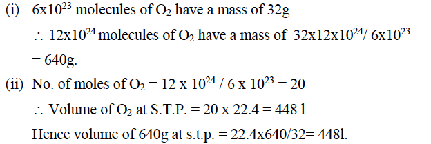 ICSE Class 10 Chemistry Qs Paper 2016 Solution-10