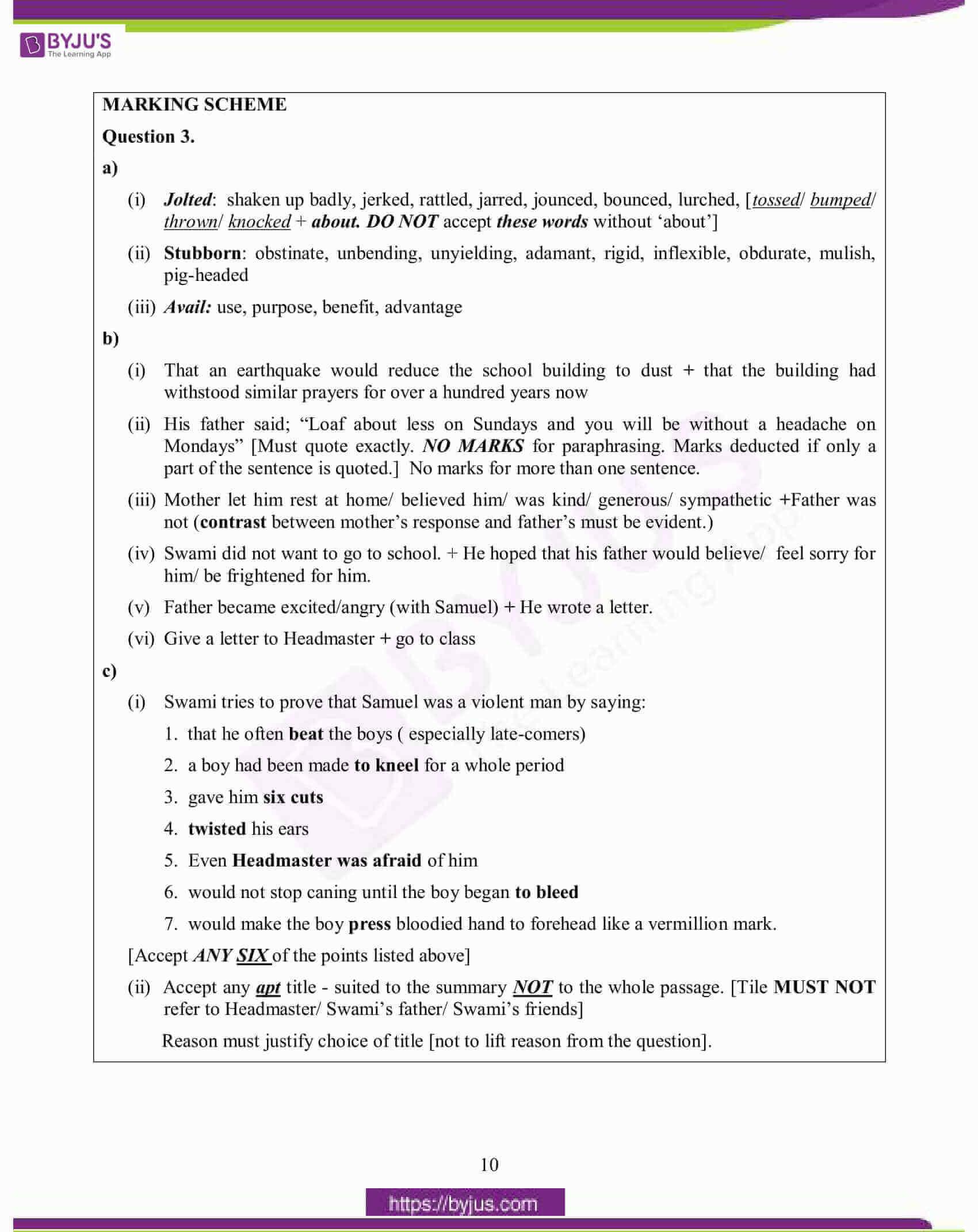 icse class 10 eng lan question paper solution 2015 09