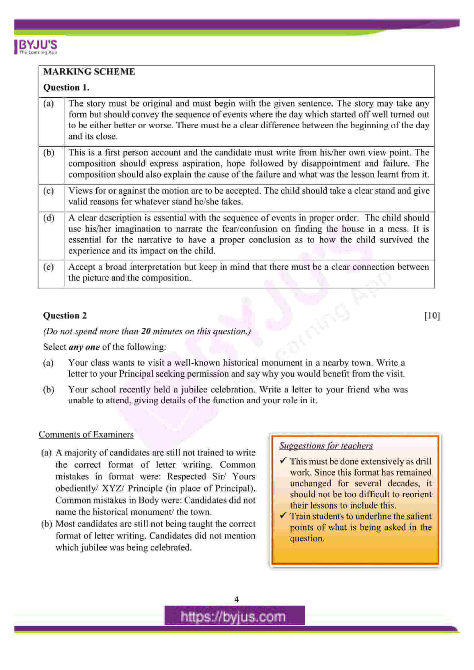 icse class 10 eng lan question paper solution 2016 03