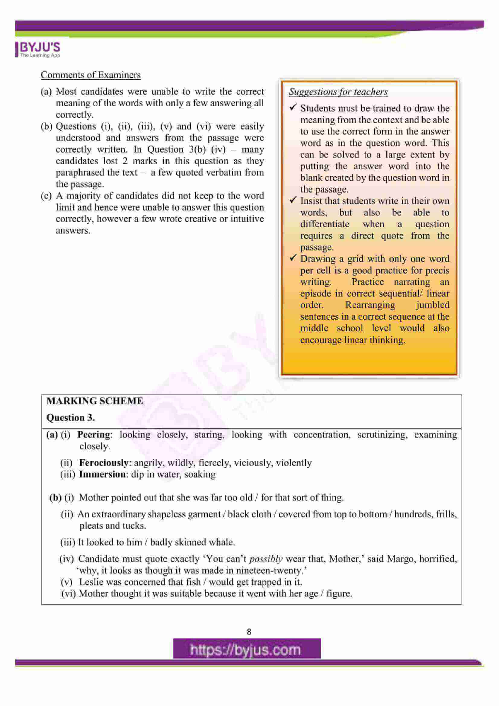 icse class 10 eng lan question paper solution 2016 07