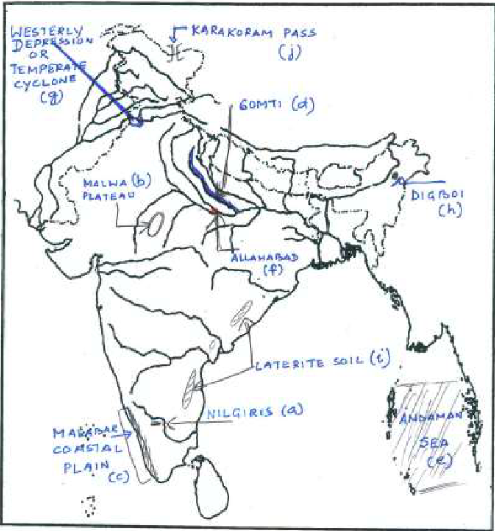 ICSE Class 10 Geography Qs Paper 2015 Solution-2