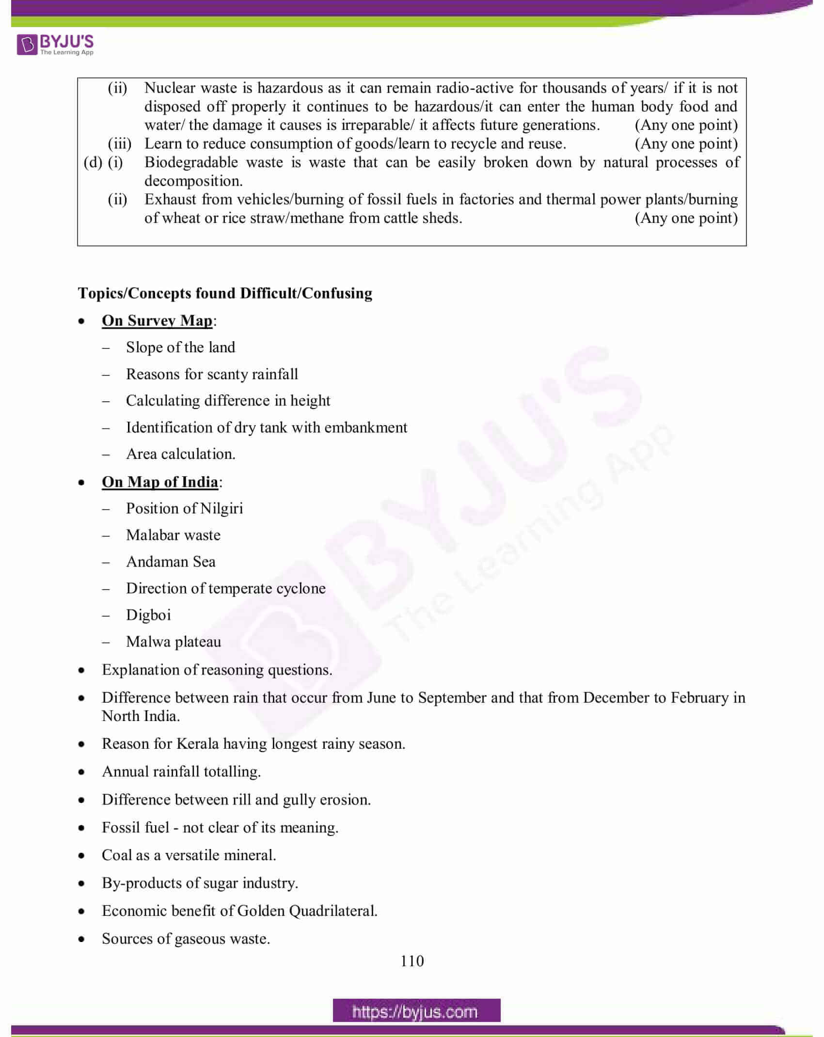 icse class 10 geography question paper solution 2015 24