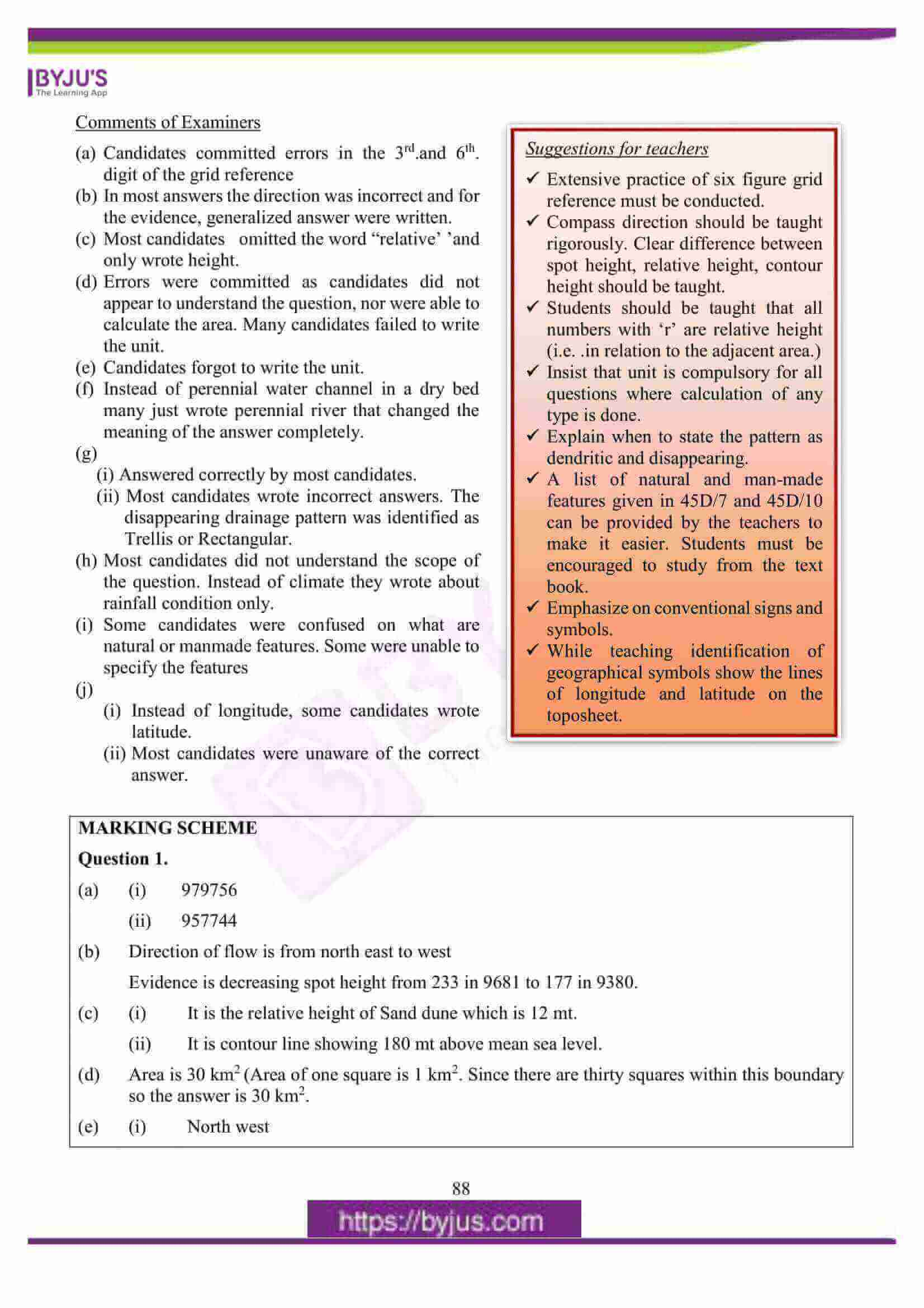 icse class 10 geography question paper solution 2016 02