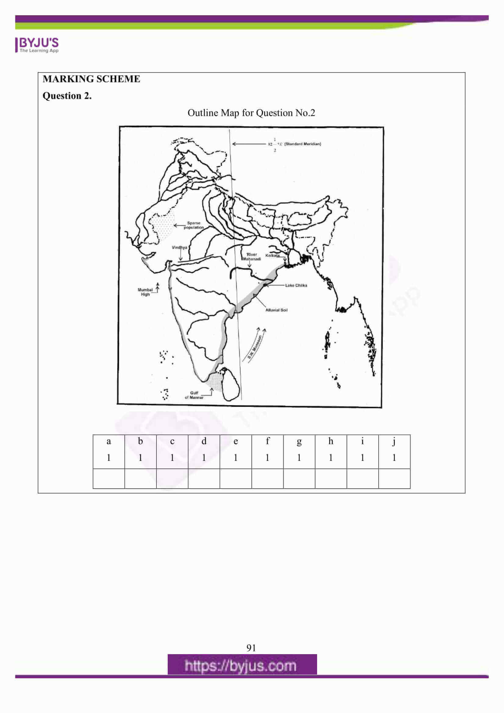 icse class 10 geography question paper solution 2016 05
