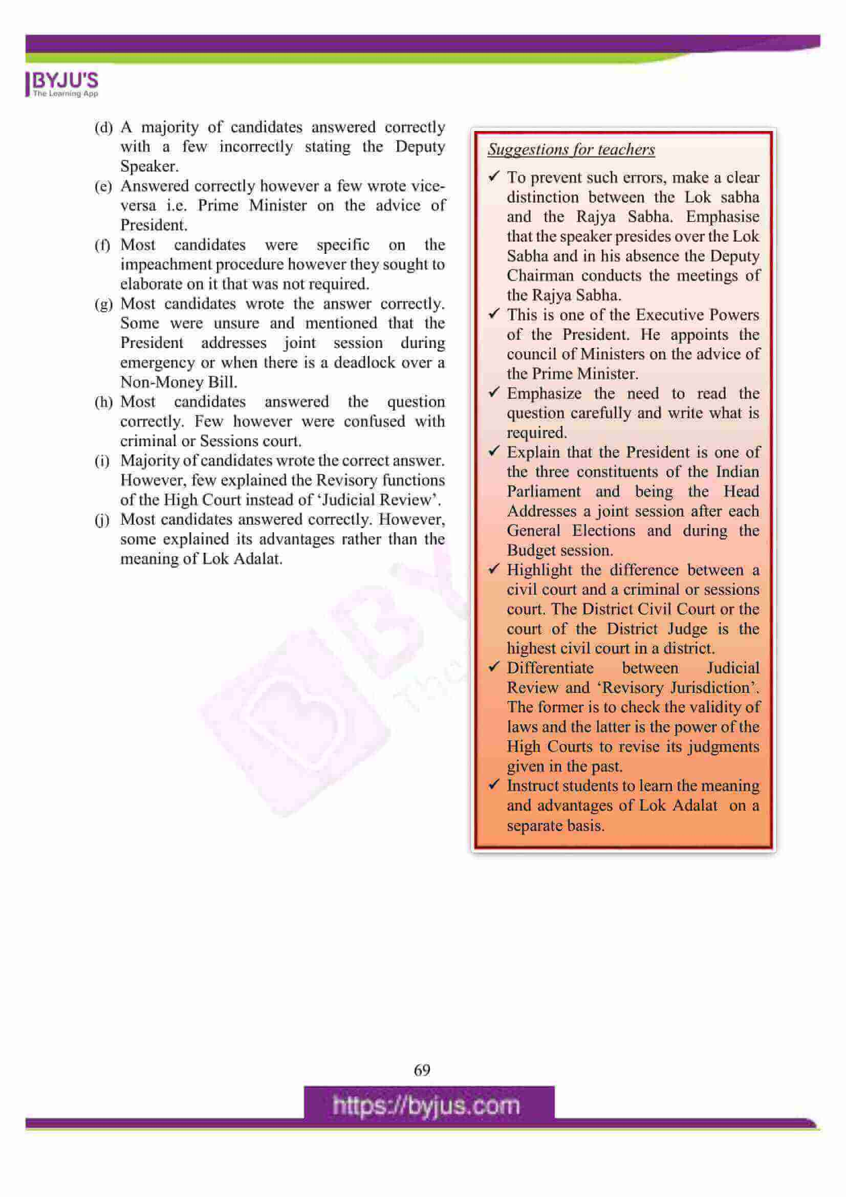 icse class 10 his and civics question paper solution 2016 02