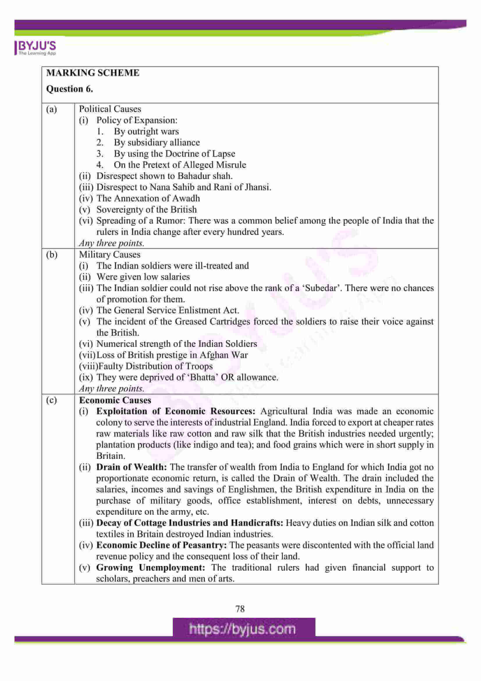 icse class 10 his and civics question paper solution 2016 11