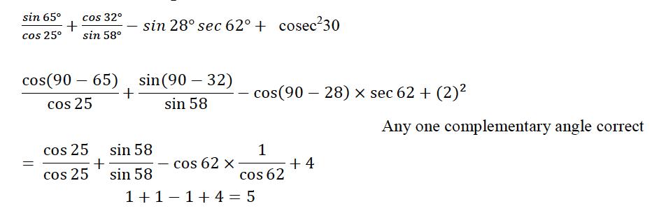 ICSE Class 10 Maths QS Paper 2015 Solution-3