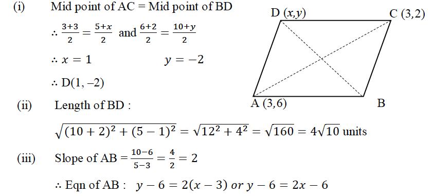 ICSE Class 10 Maths QS Paper 2015 Solution-6