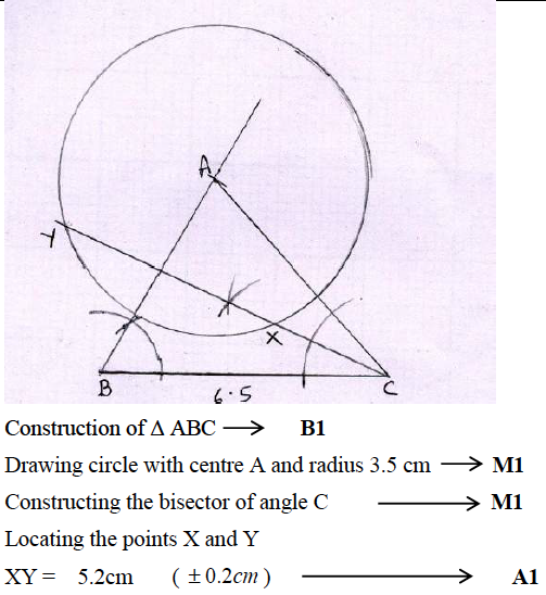 ICSE Class 10 Maths Qs Paper 2016 Solution-39