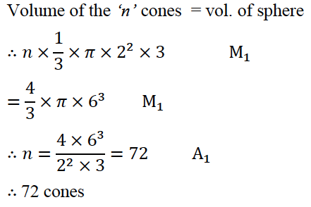 ICSE Class 10 Maths Qs Paper 2016 Solution-6