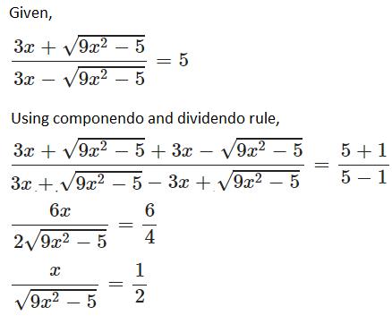 ICSE class 10 maths SP 5 solution 5(b)