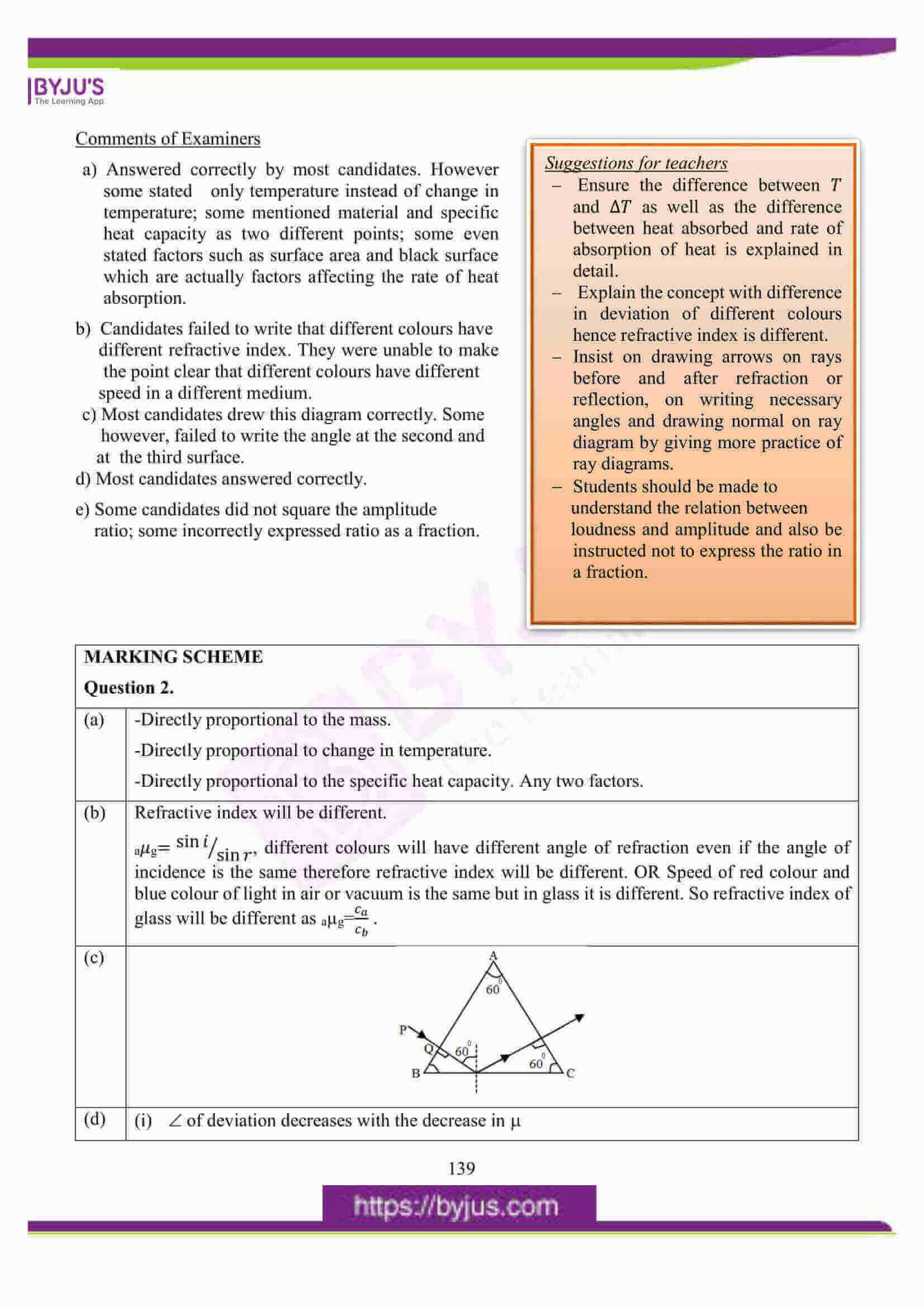 icse class 10 physics question paper solution 2016 04
