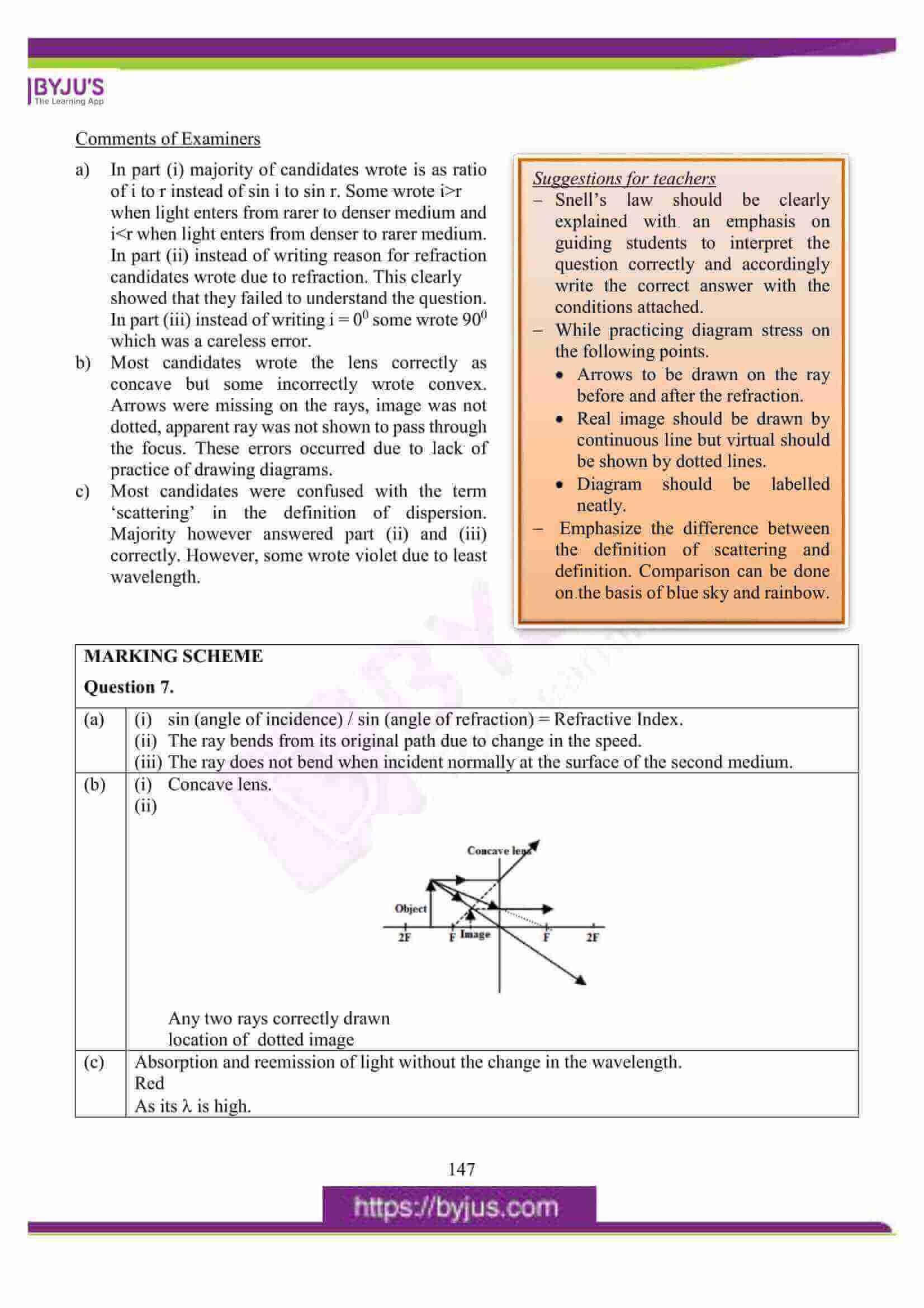 icse class 10 physics question paper solution 2016 12