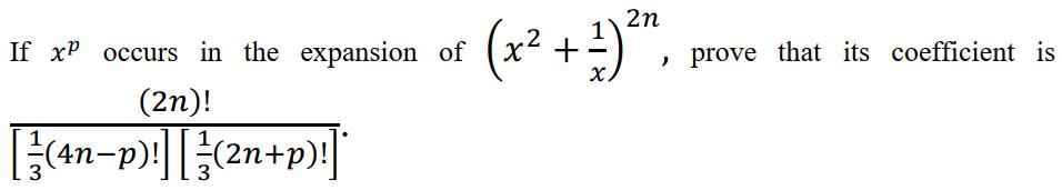 ISC Class 11 maths 2018 SP Q 13(b)