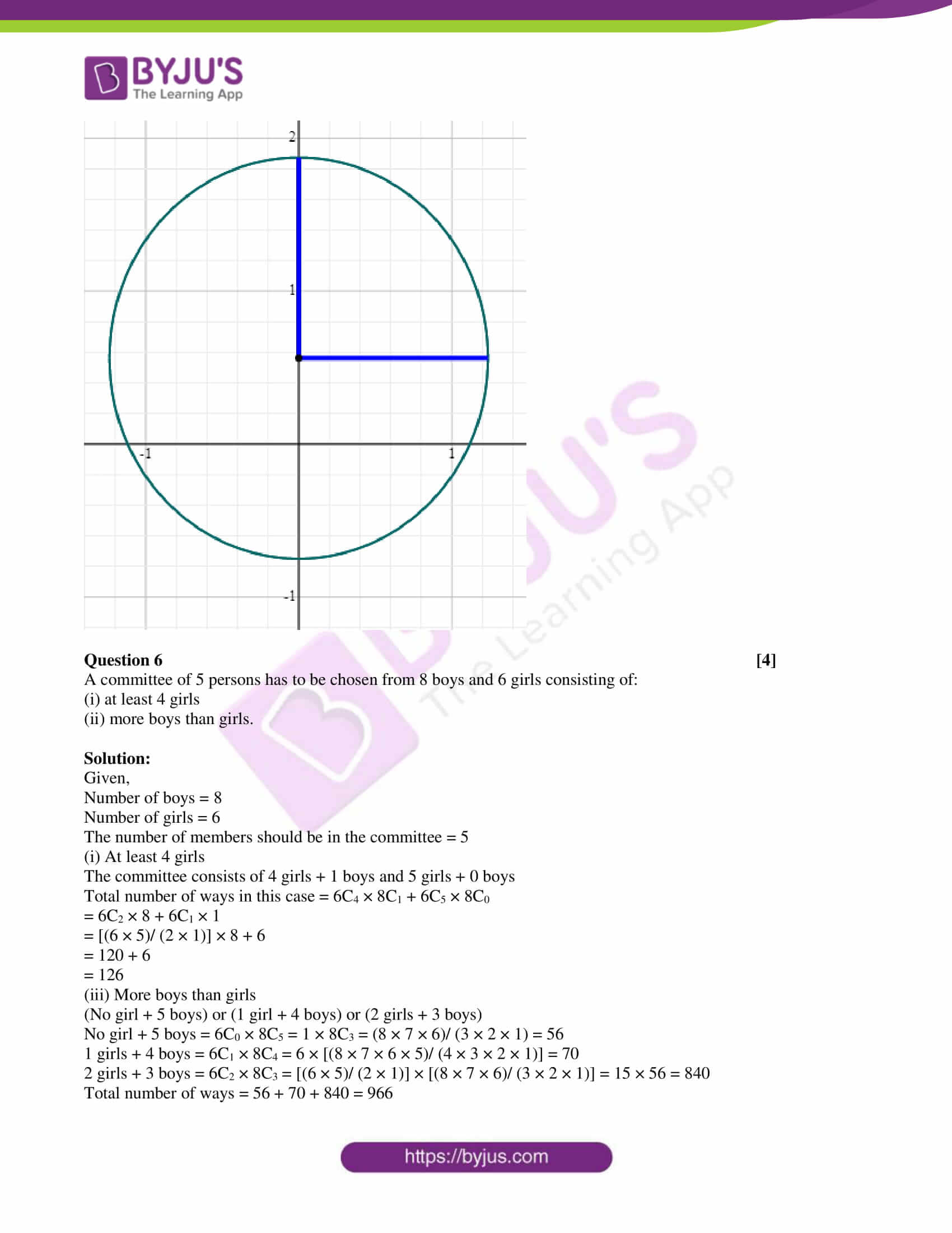 isc class 11 maths mock question paper with solution 1 09