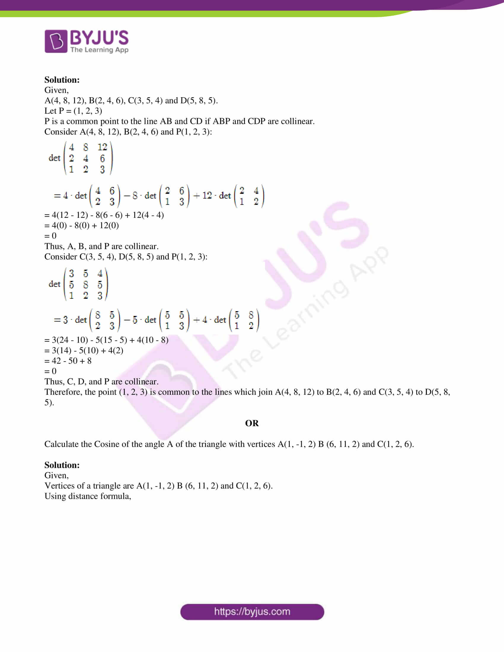 isc class 11 maths specimen question paper with solutions 2018 20