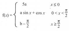 KBPE Class 12 Maths 2017 QP Solutions Question 5a