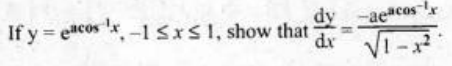 KBPE Class 12 Maths Important Questions Question 6bi