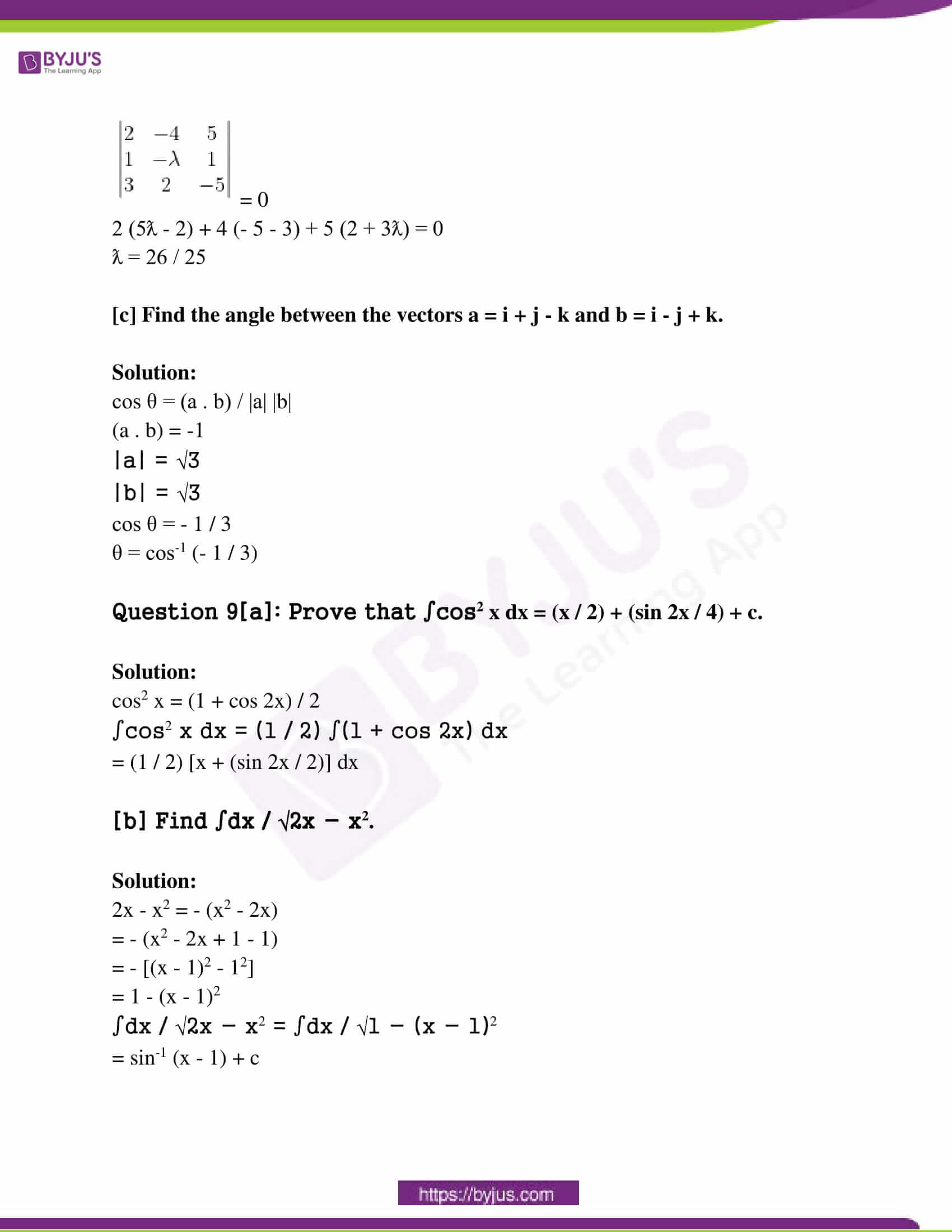 kerala class 12 examination question paper solutions march 2016 09