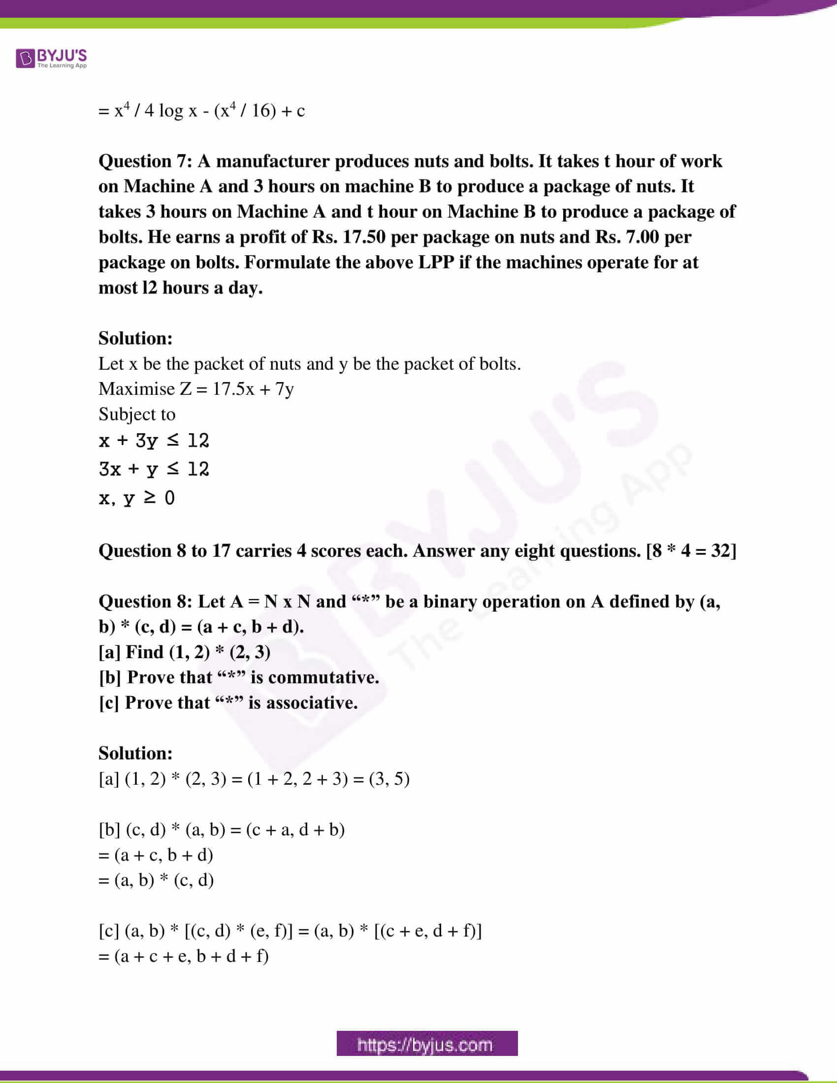 kerala class 12 examination question paper solutions march 2018 05