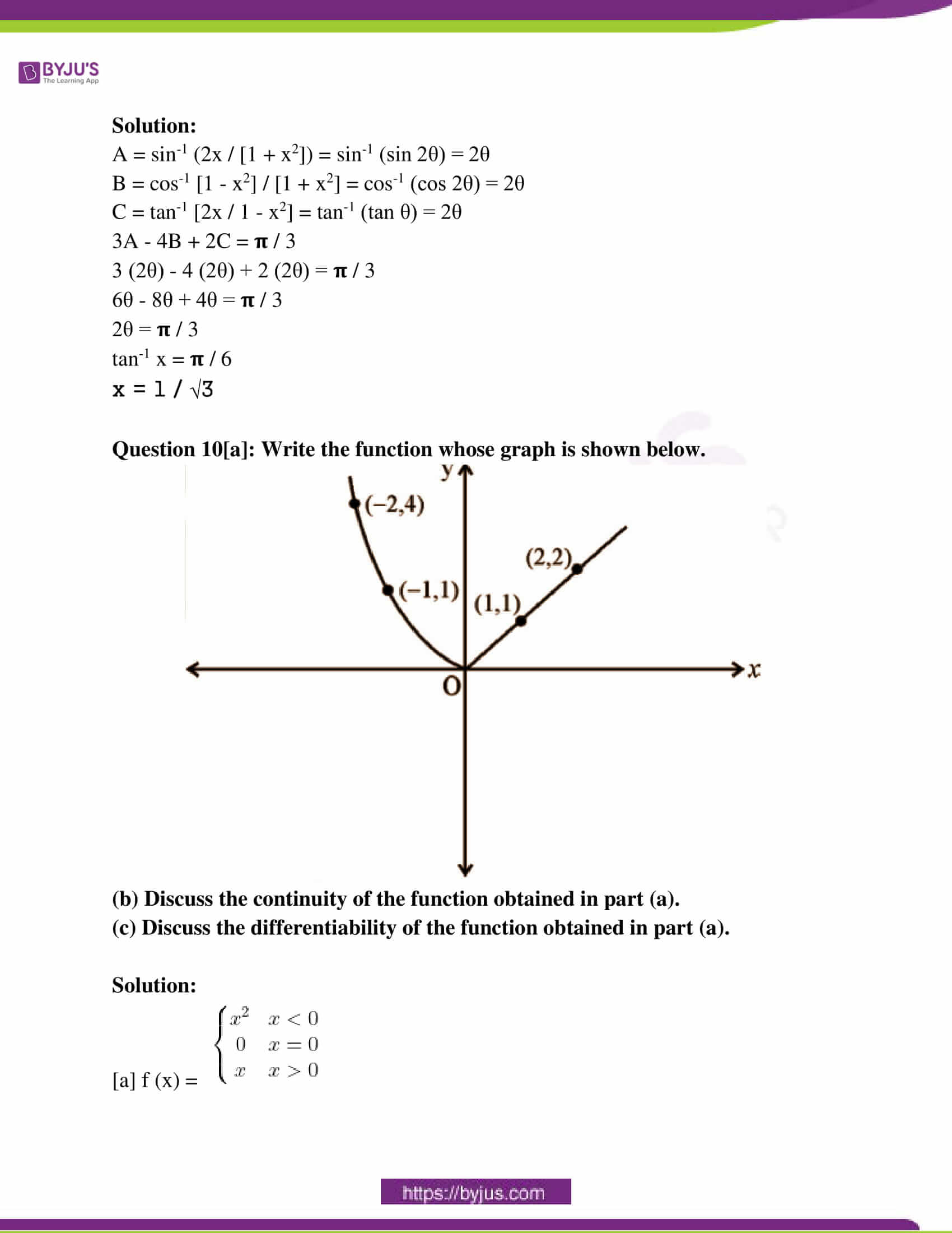 kerala class 12 examination question paper solutions march 2019 07