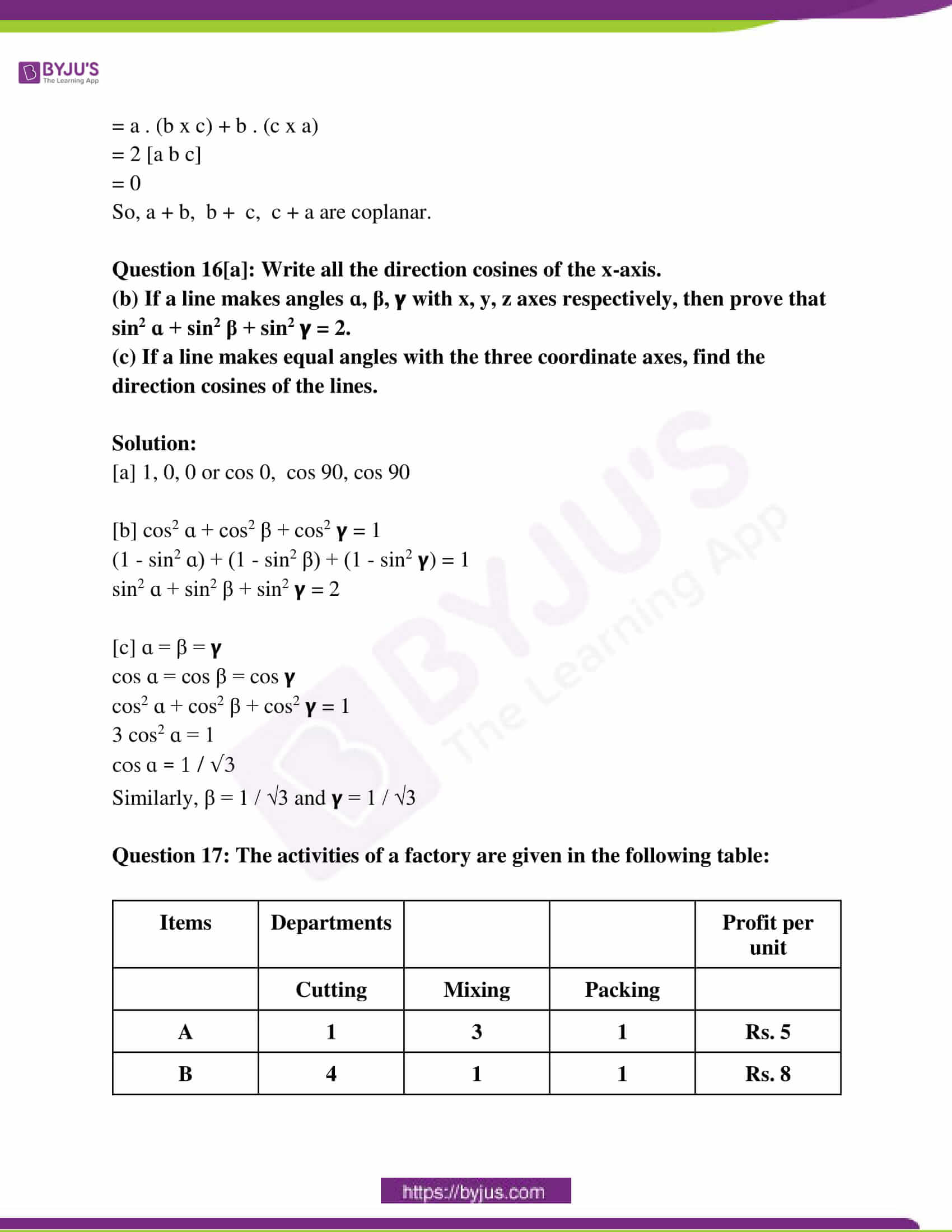 kerala class 12 examination question paper solutions march 2019 11