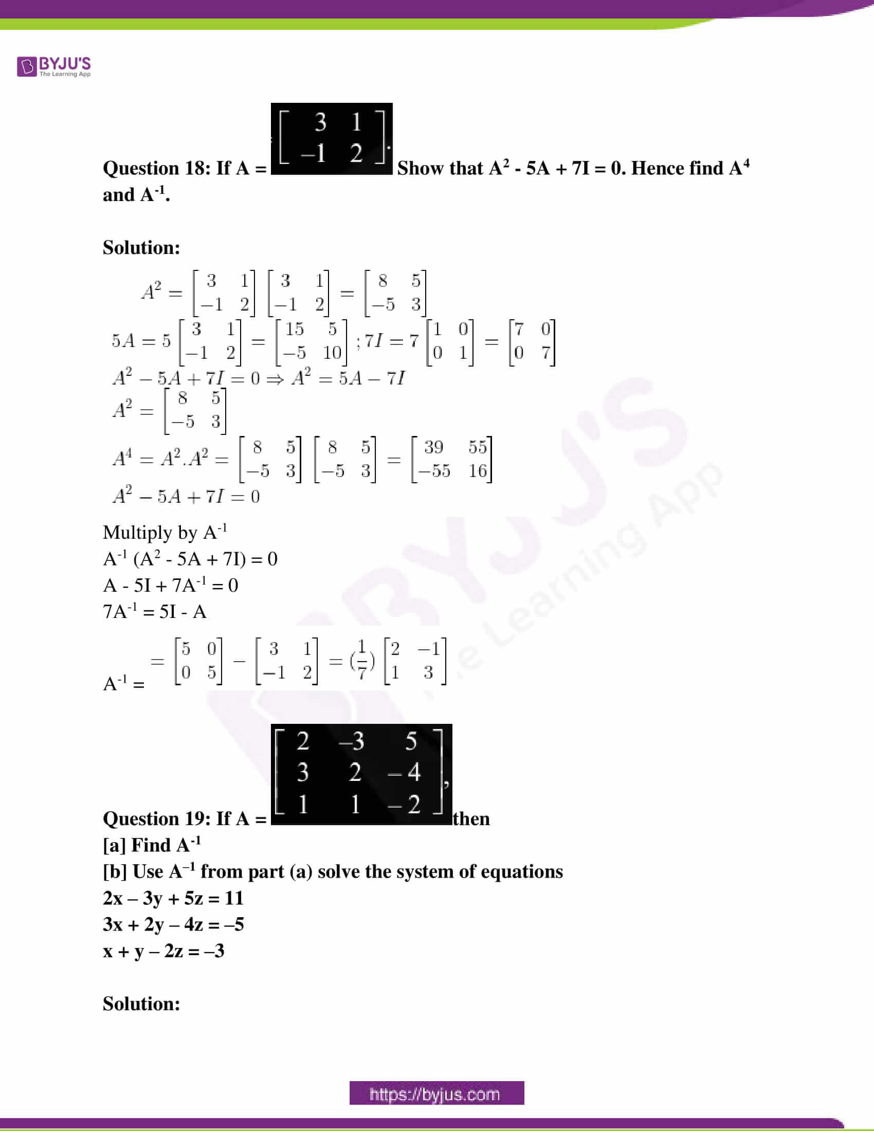 kerala class 12 examination question paper solutions march 2019 14