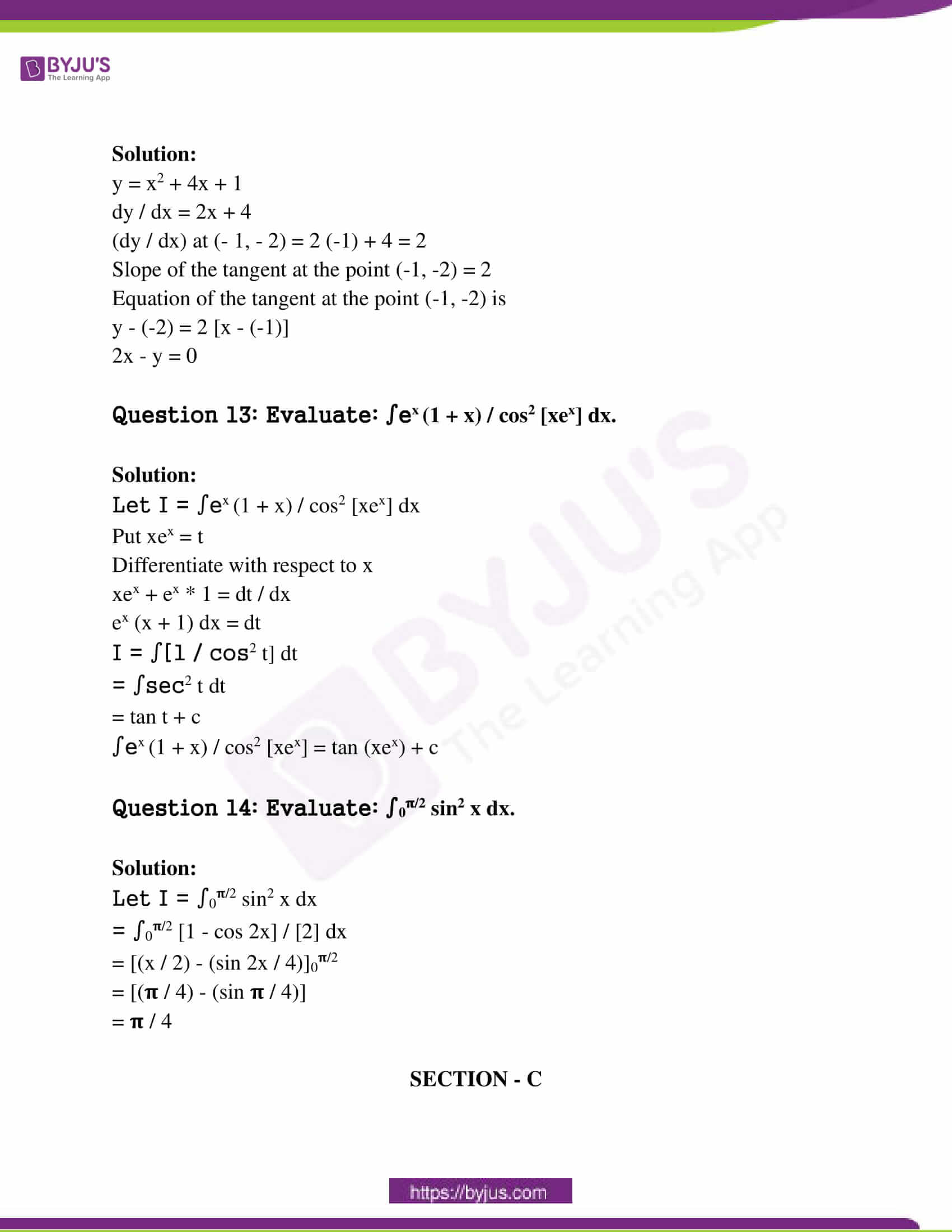 maharashtra class 12 exam question paper sol march 2019 06