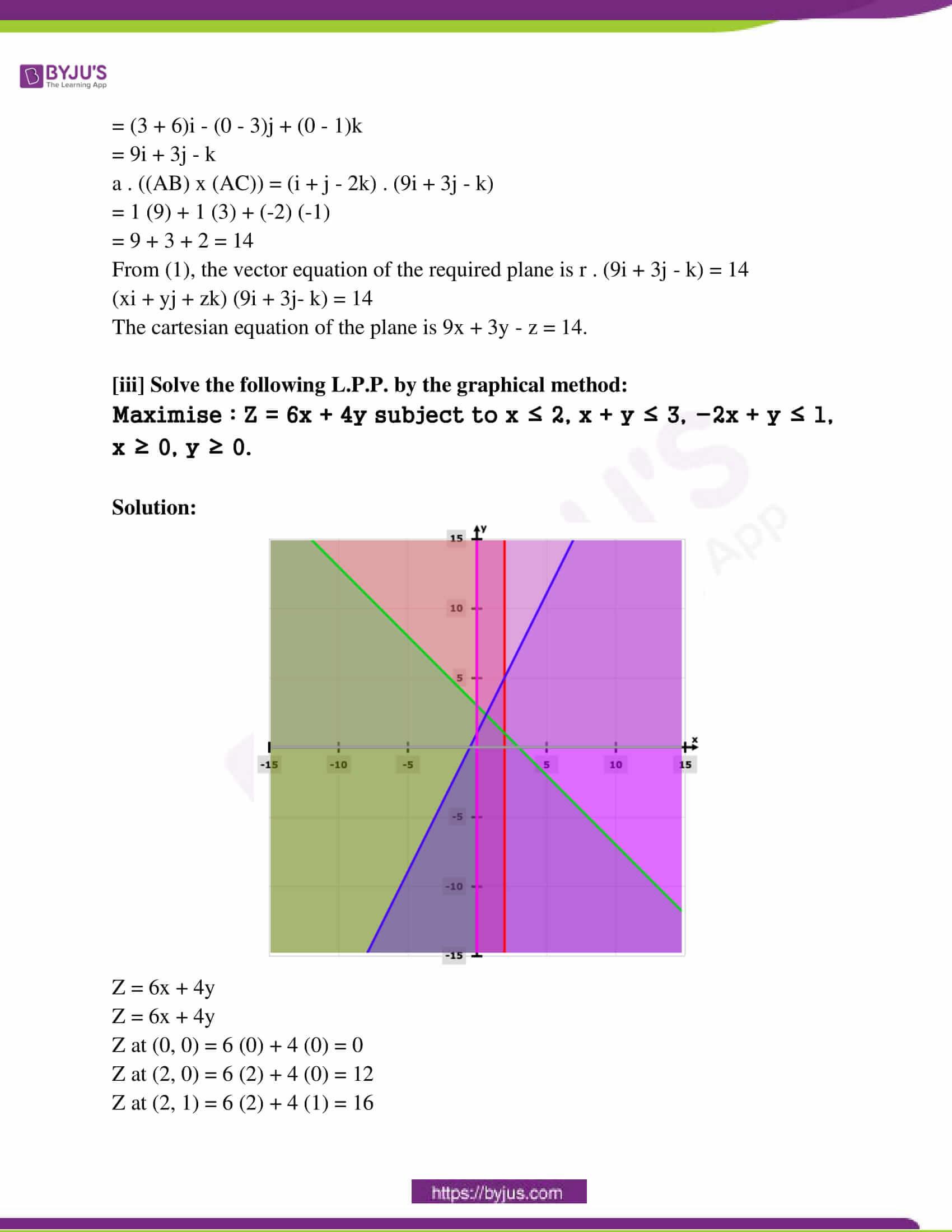maharashtra class 12 exam question paper solutions march 2017 14