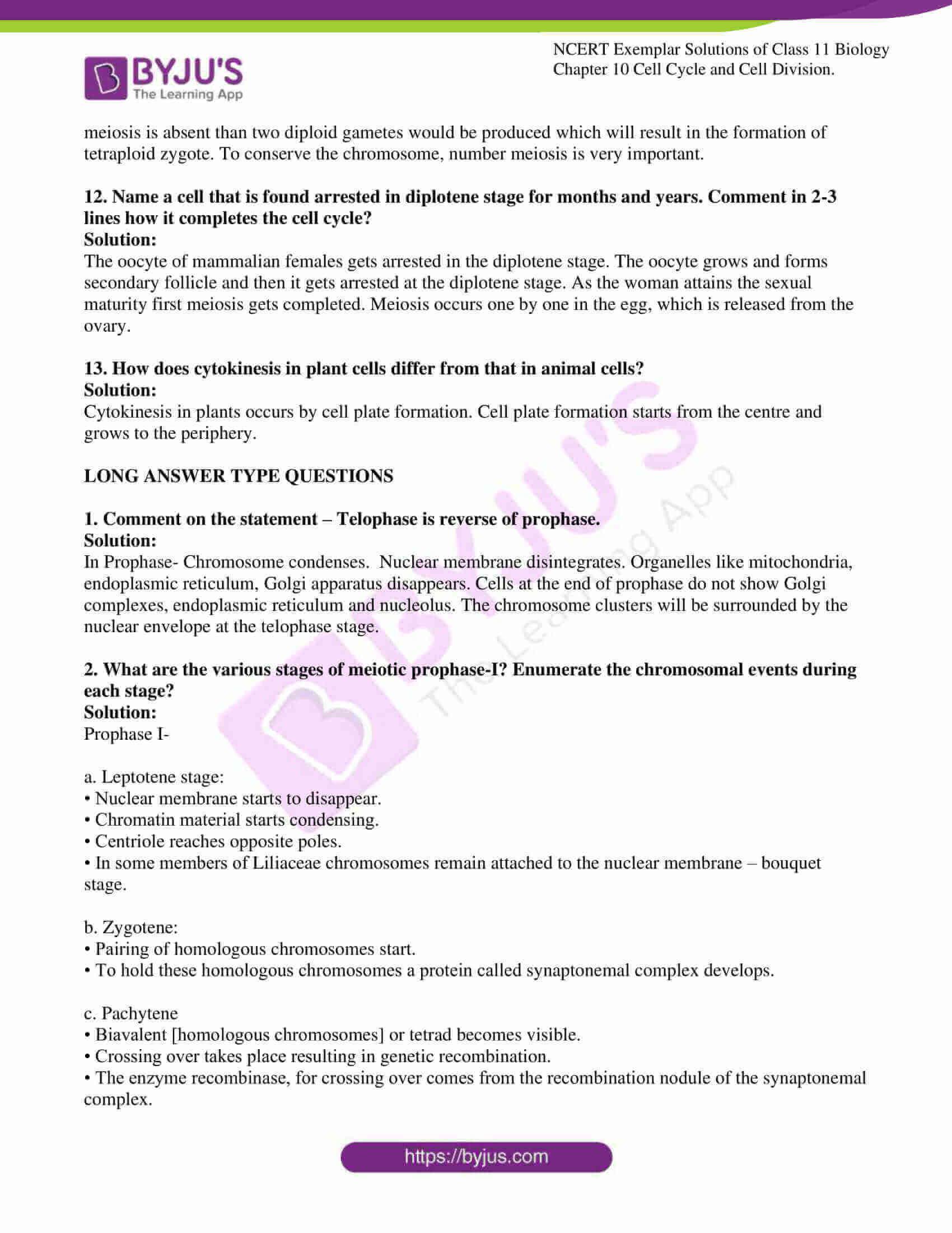 ncert exemplar solutions for class 11 bio chapter 10 7