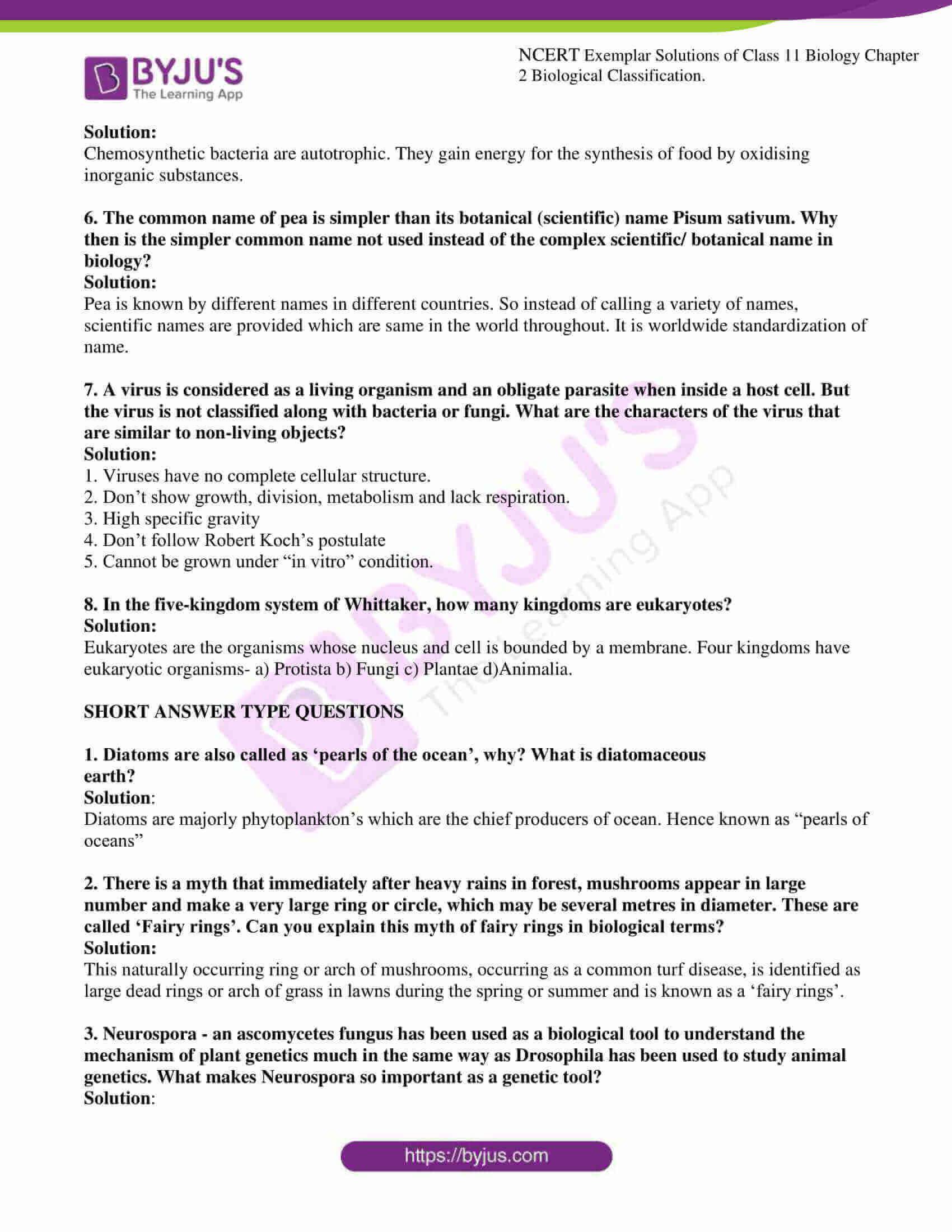ncert exemplar solutions for class 11 bio chapter 2 4